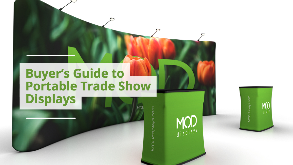 Trade Show Booth Graphic Design : Buyers guide to portable trade show displays mod blog