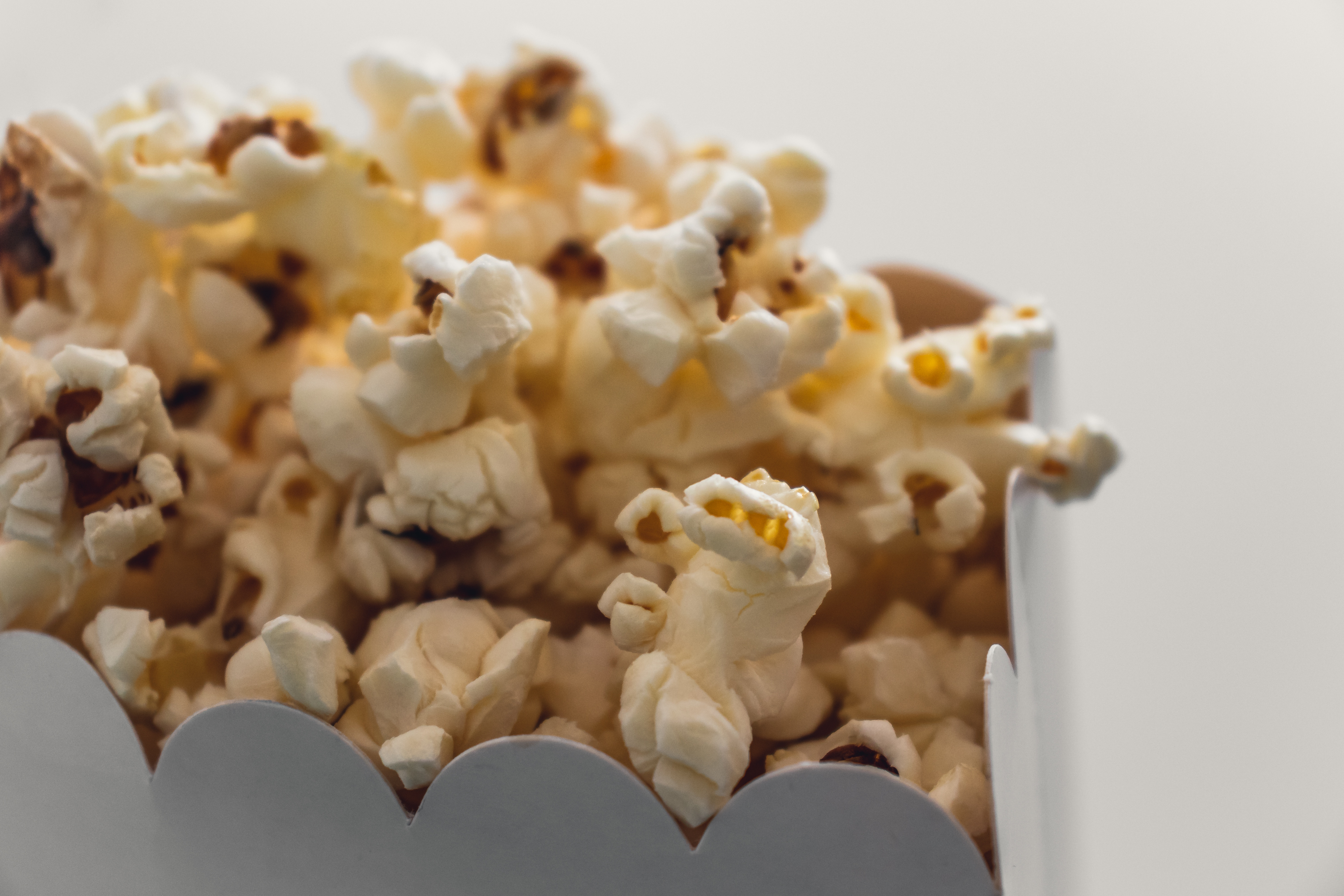 Popcorn - Eating or Snacking Messily