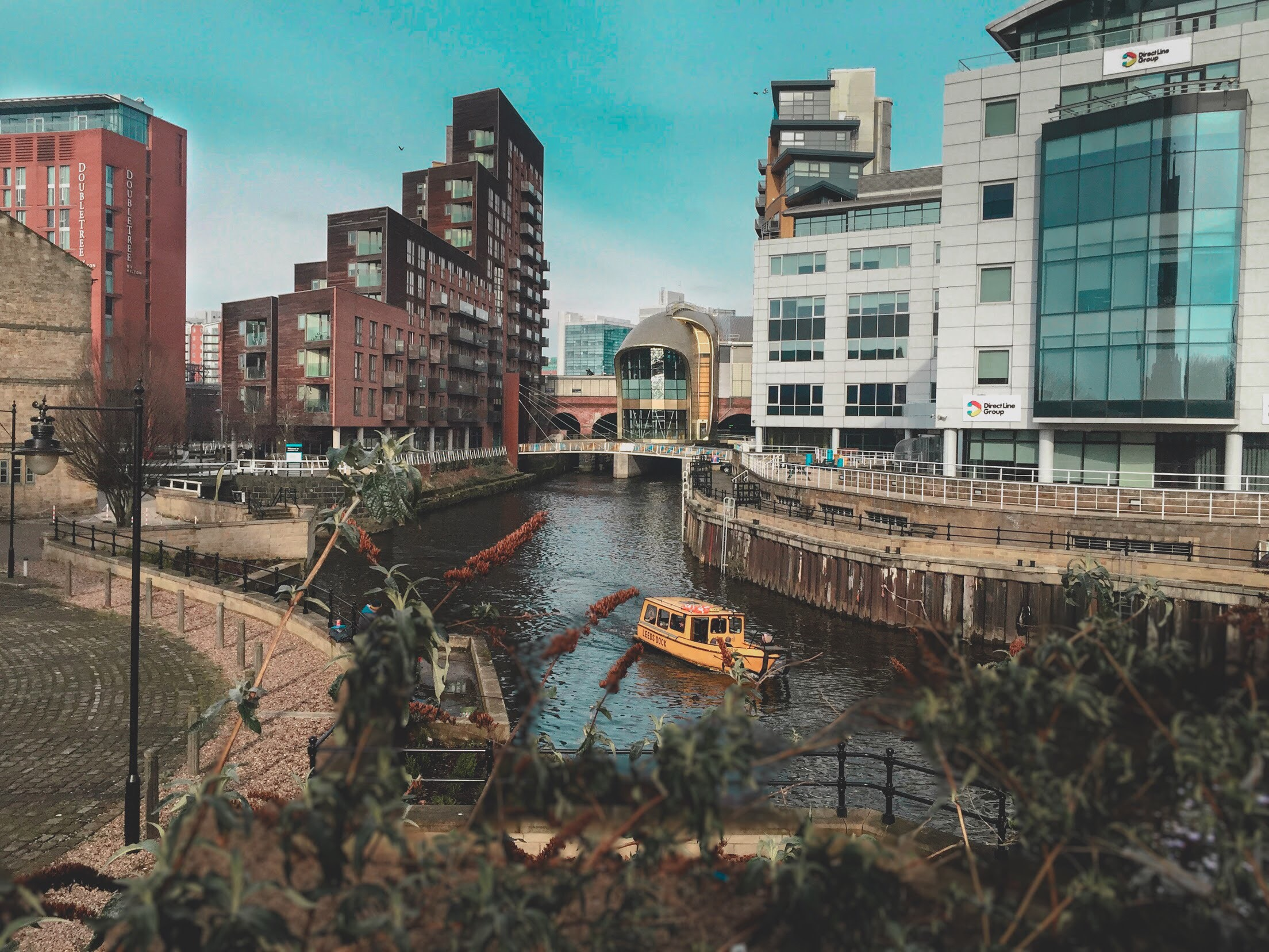 River Aire at Granary Wharf, Leeds