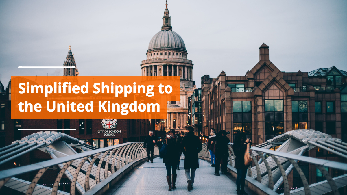 Shipping in & to United Kingdom Simplified