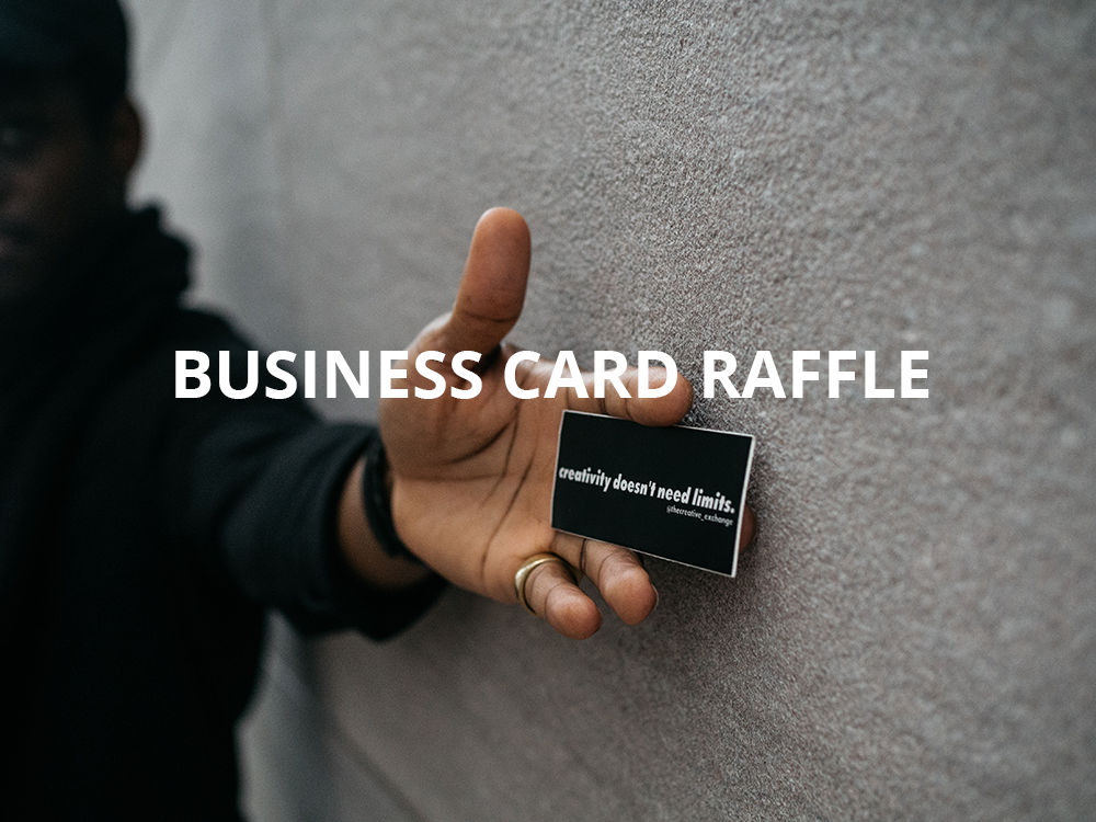 Trade Show Game Idea: Business Card Raffle