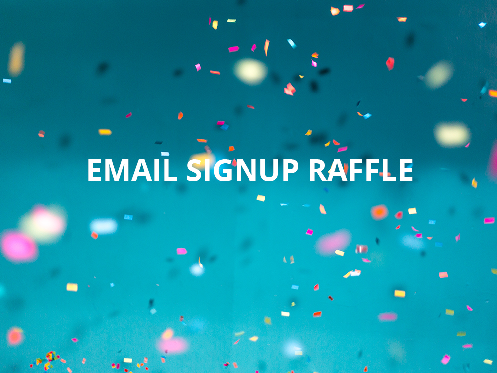 Trade Show Booth Game Idea: Email Signup Raffle