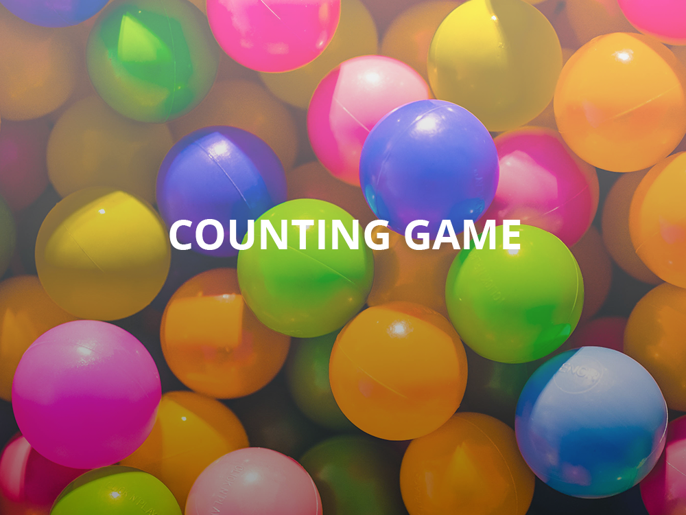 Trade Show Game Idea: Counting Game