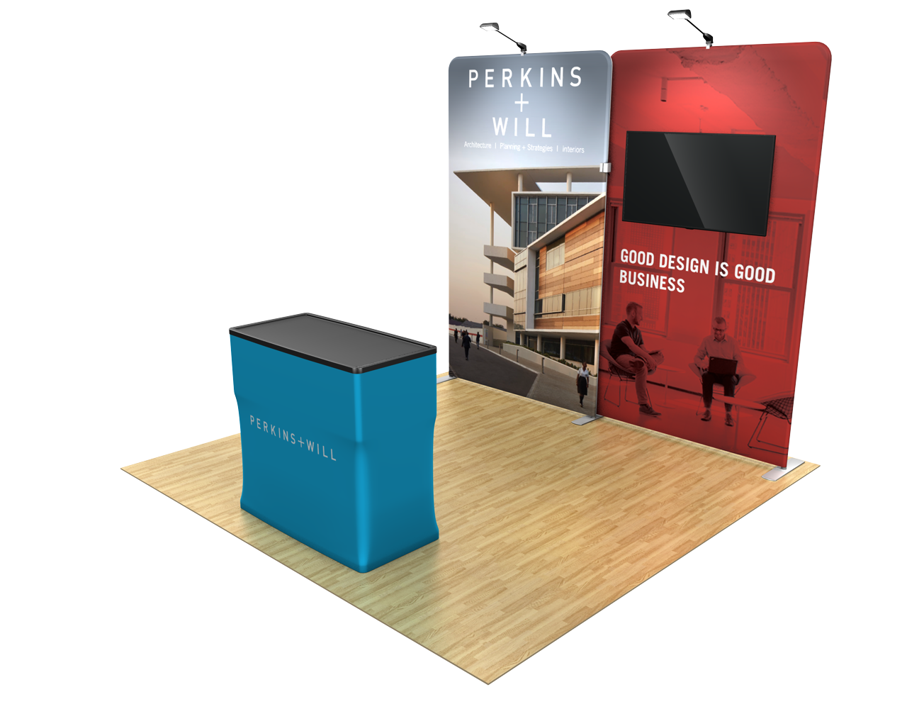 Waveline Media 10ft Trade Show Display Kit - 10.04