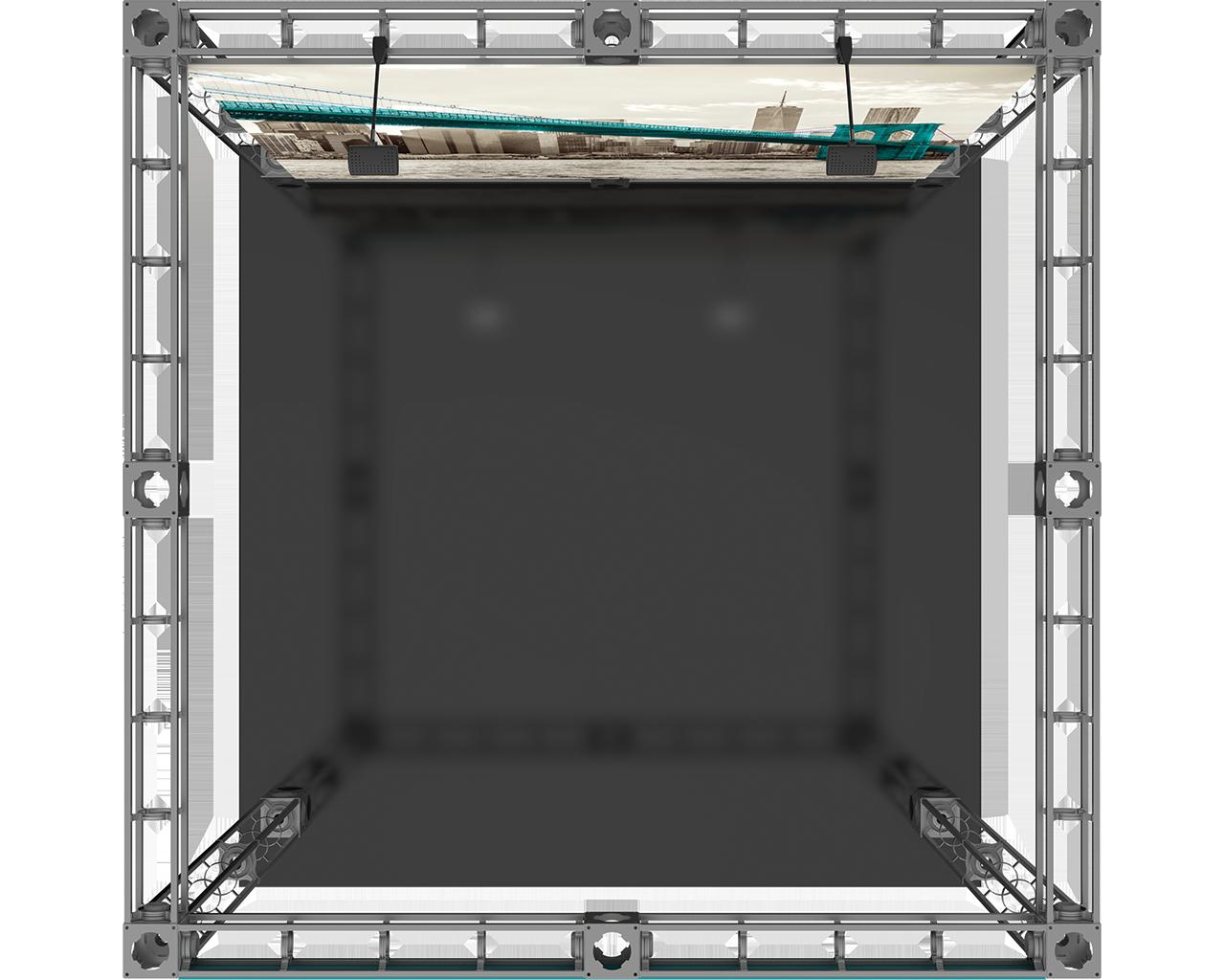 Luna-1 10 x 10 Orbital Truss Display