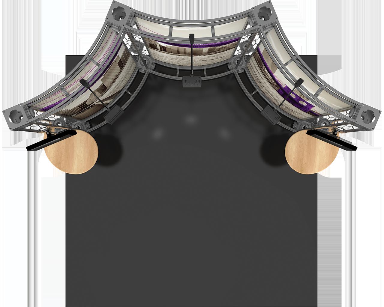 Lynx 10 x 10 Orbital Truss Display