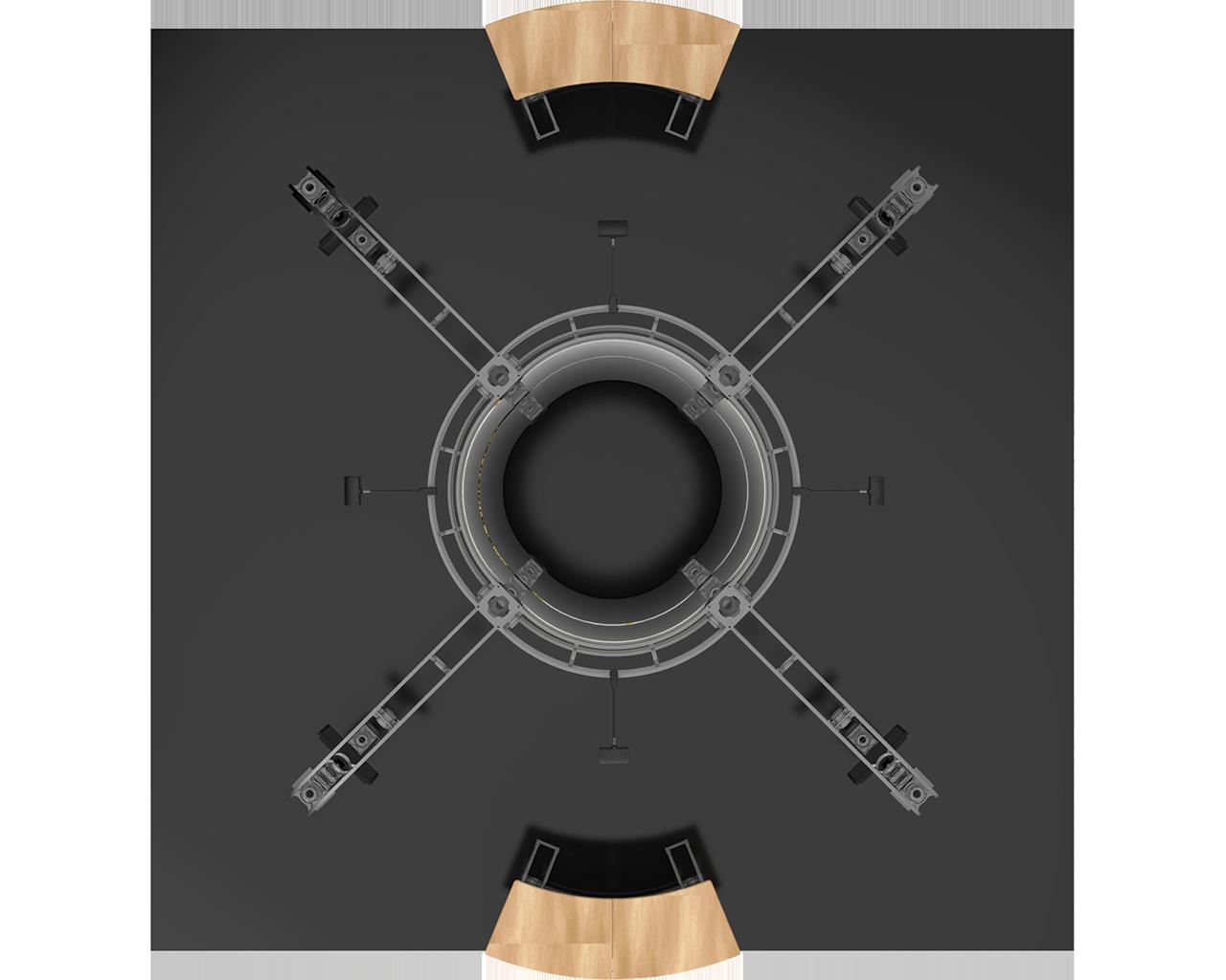Vesta 20 x 20 Orbital Truss Display