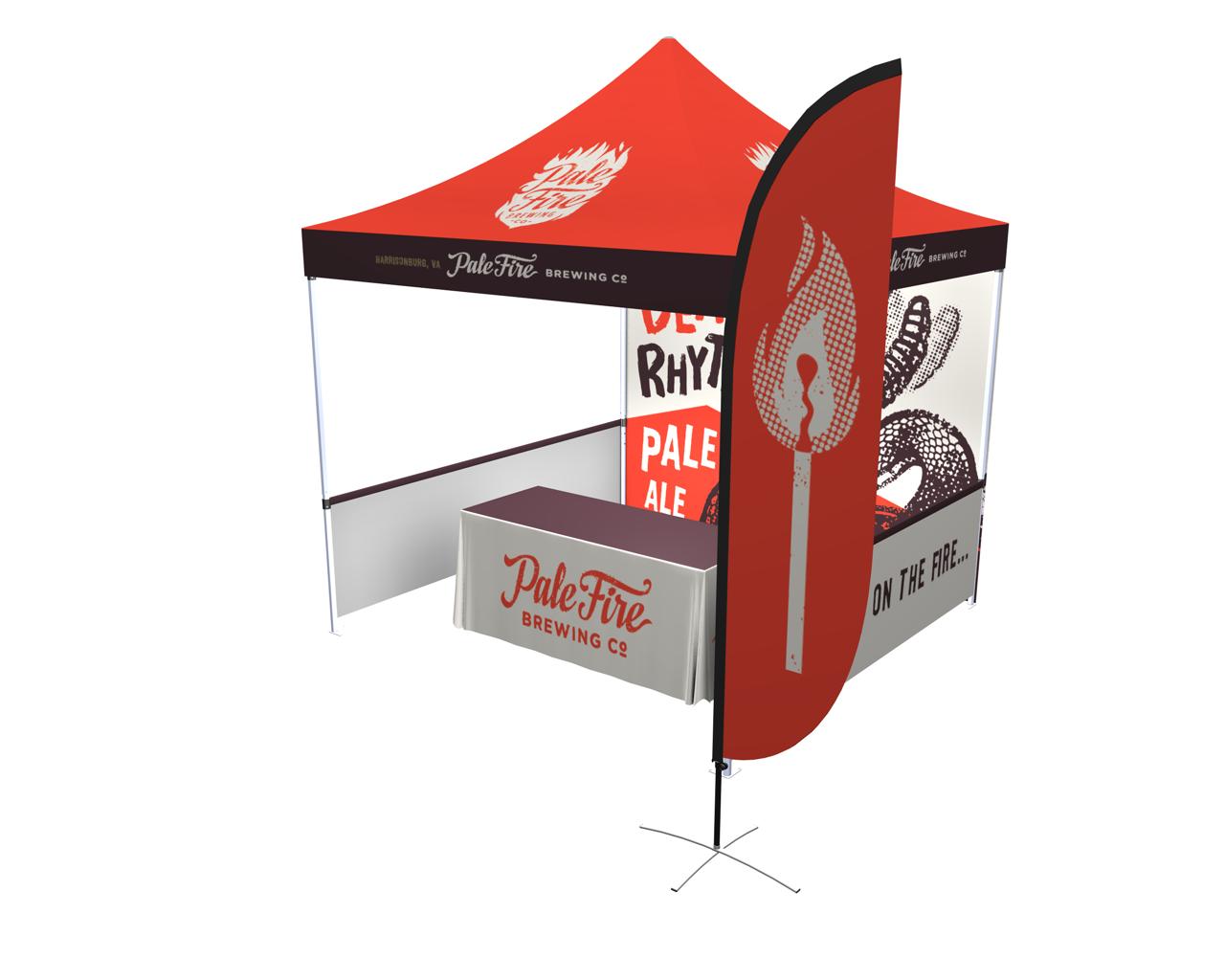 10x10 Zoom Popup Tent Deluxe Kit