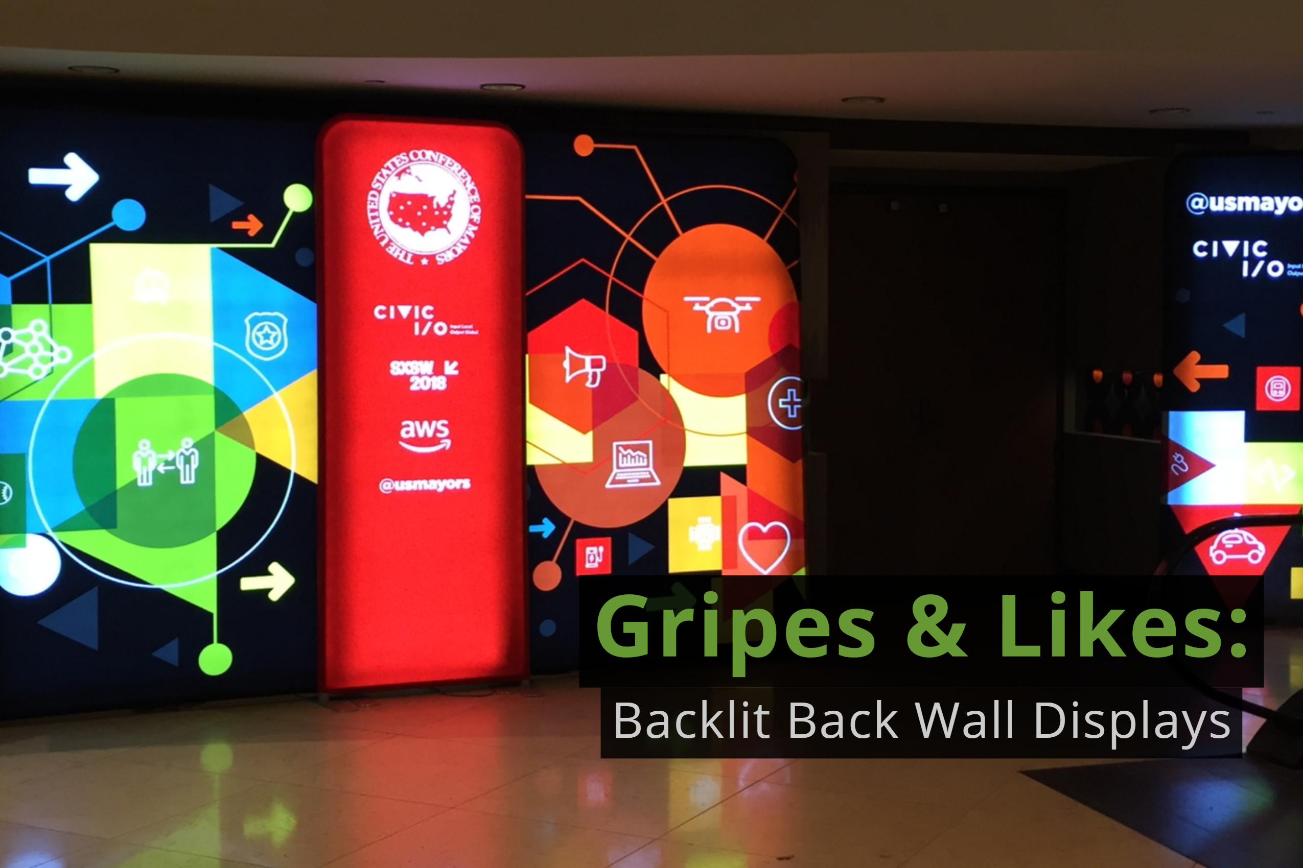 Gripes & Likes: Backlit Back Wall Displays