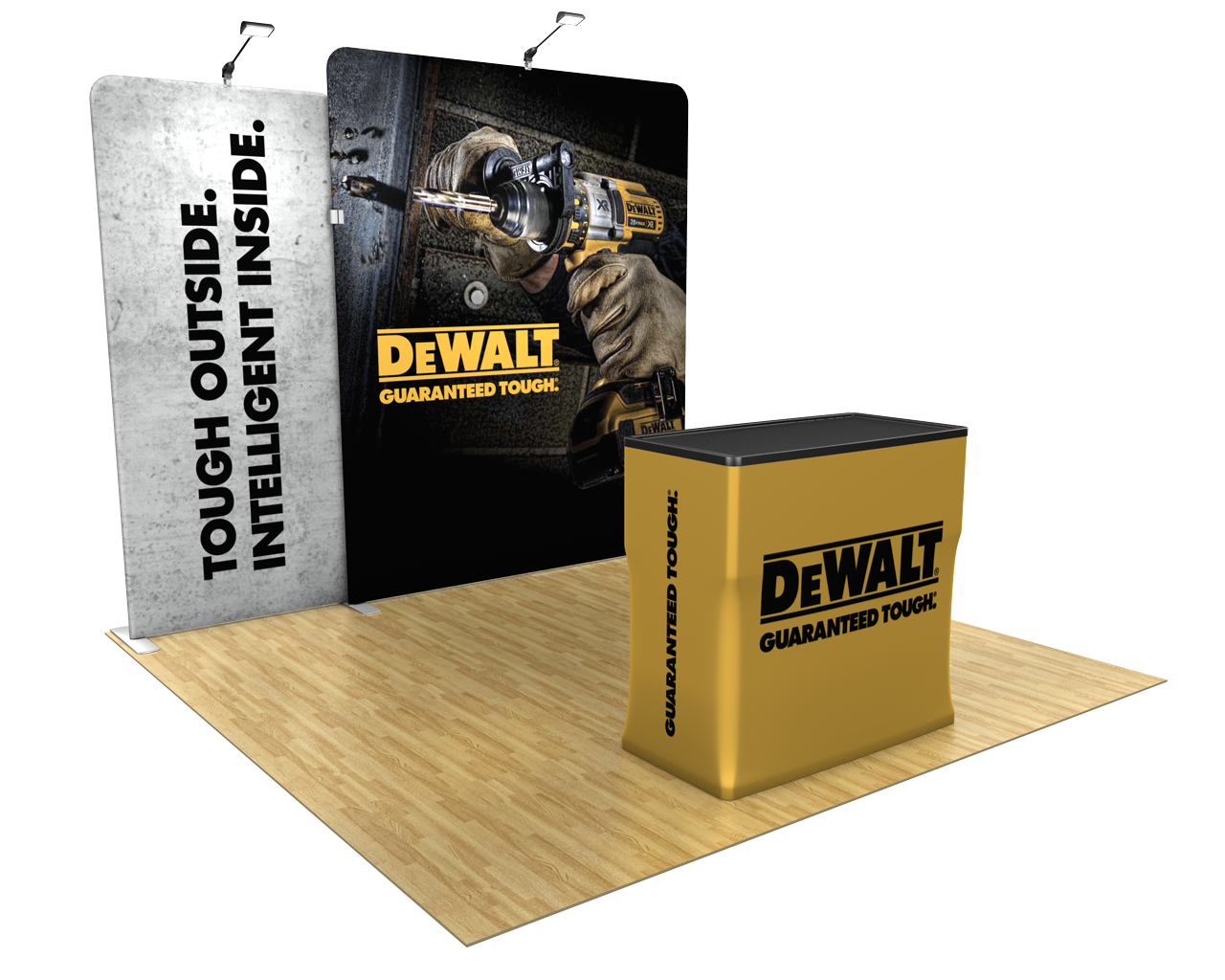 Waveline Media 10ft Trade Show Display Kit - 10.13