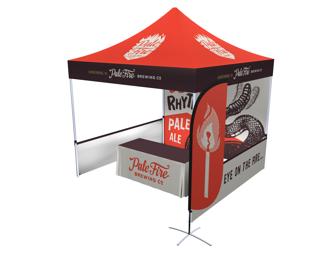 10x10 Pop-up Tent Deluxe Kit