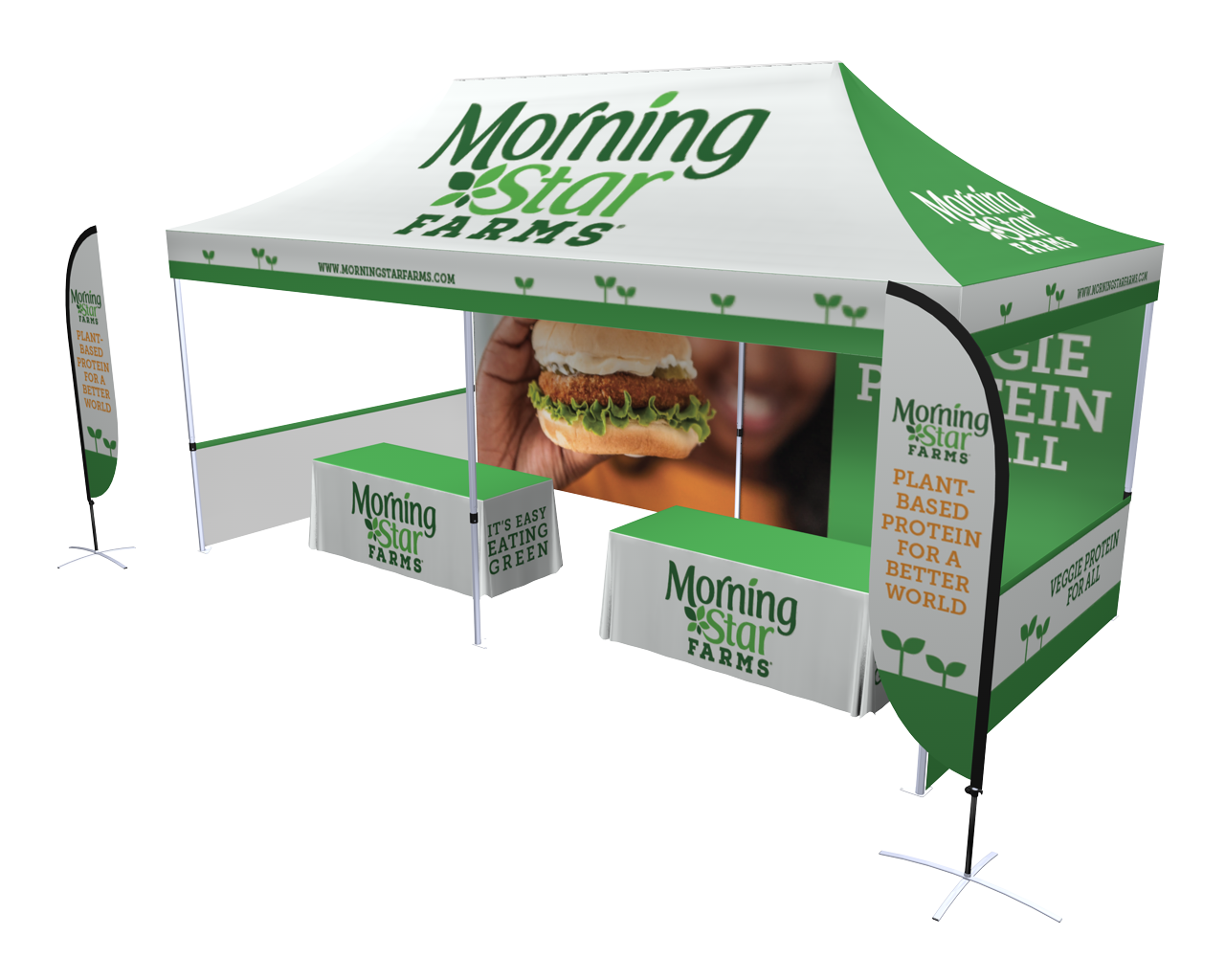 10x20 Pop-up Tent Deluxe Kit