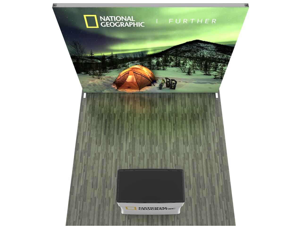 Infinity Pro Backlit 10x10 Trade Show Display Kit - 10.01