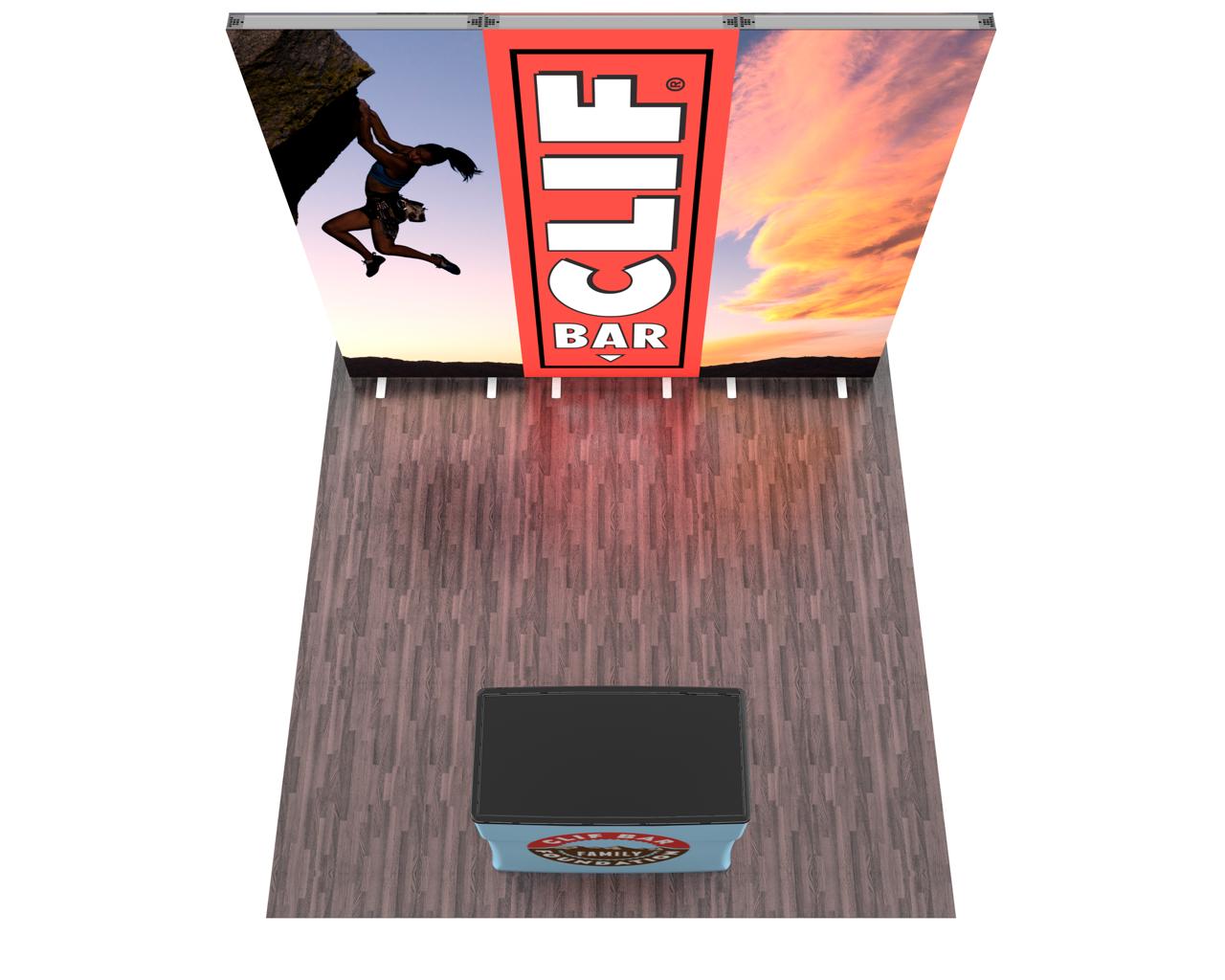 Infinity Pro Backlit 10ft Trade Show Display Kit - 10.03