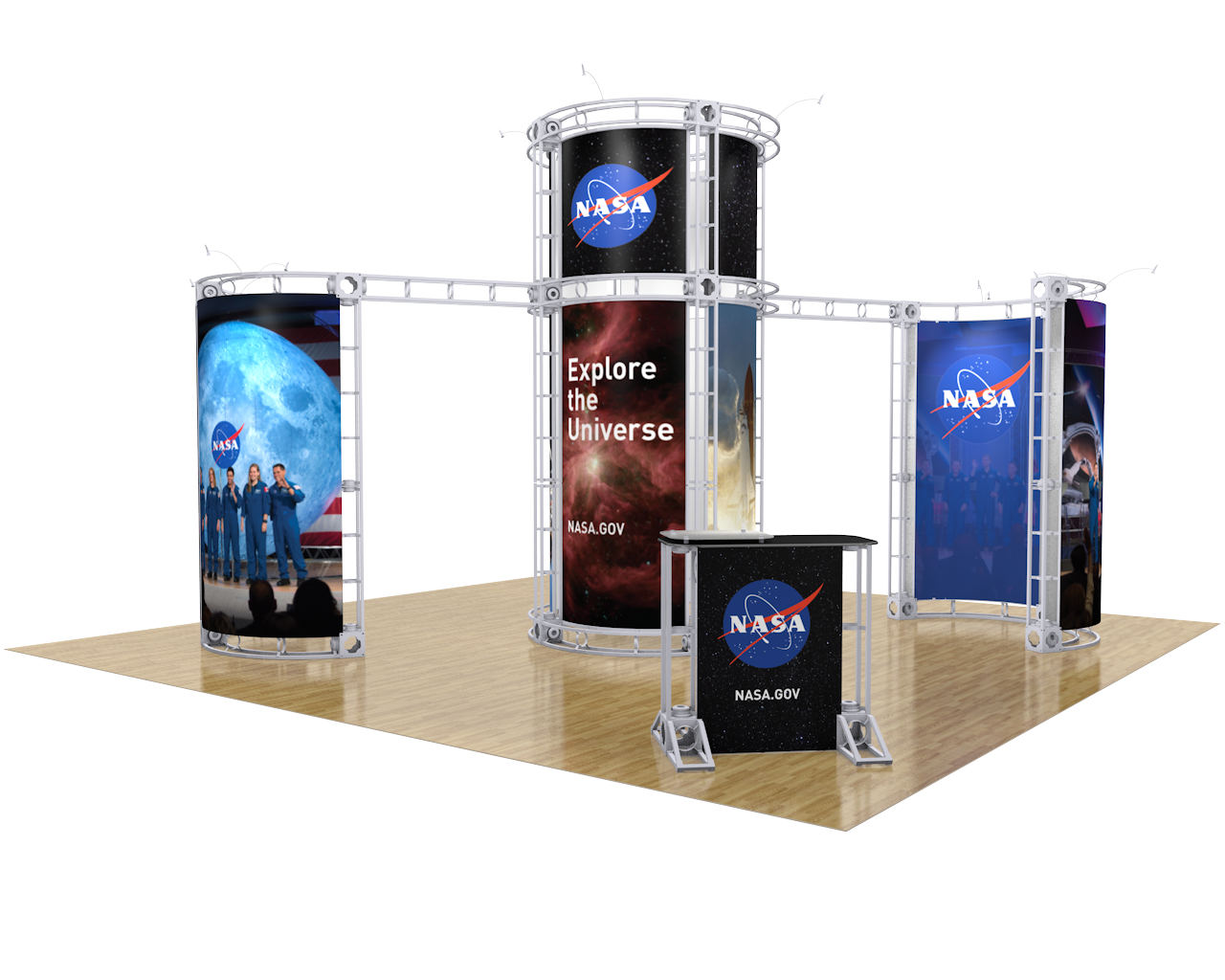 Zenit 20 x 20 Orbital Truss Display
