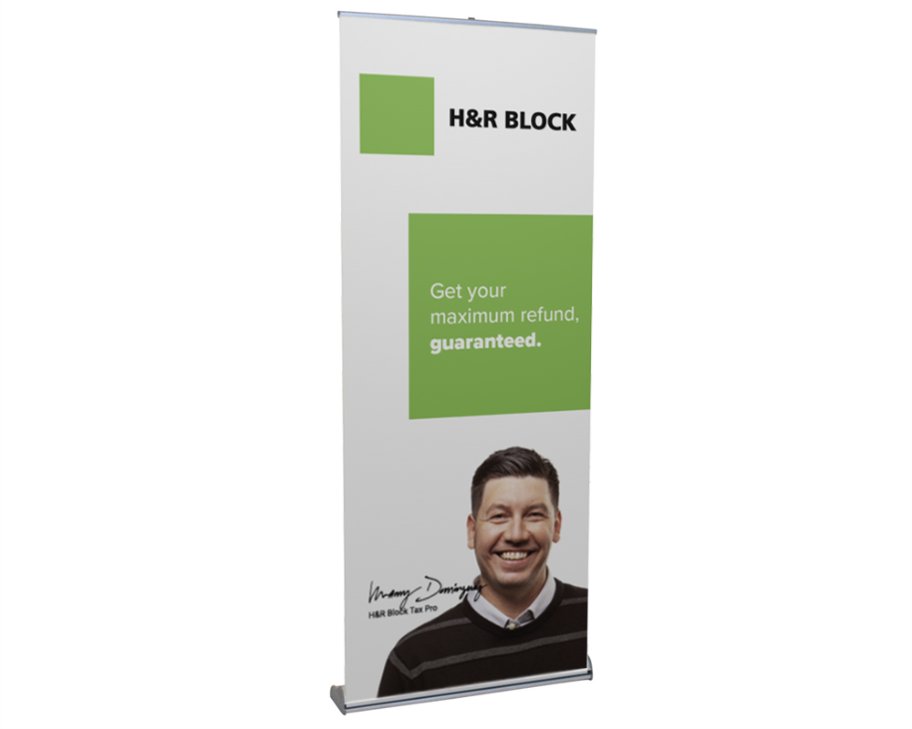 Orient Retractable Banner Stand