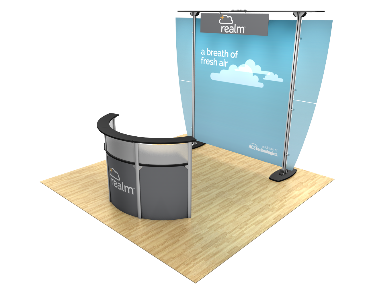 Exhibitline 10x10 Trade Show Display Kit - 10.01