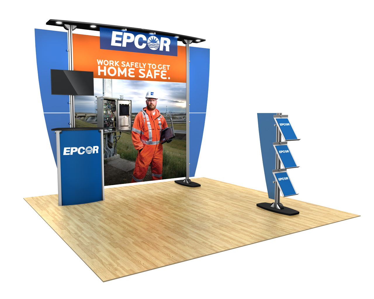 Exhibitline 10ft Trade Show Display Kit - 10.05