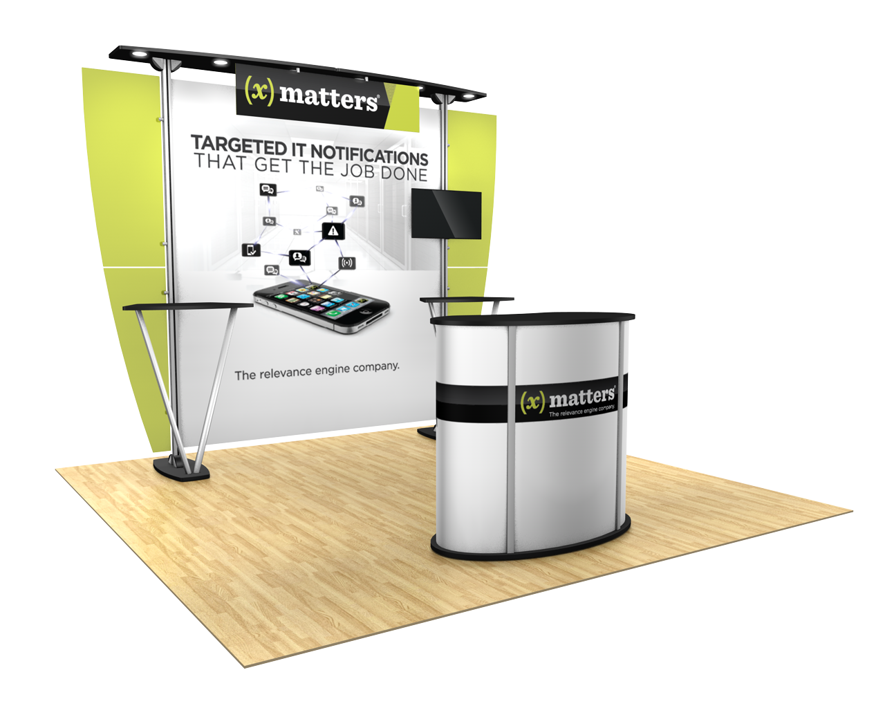 Exhibitline 10ft Trade Show Display Kit - 10.10