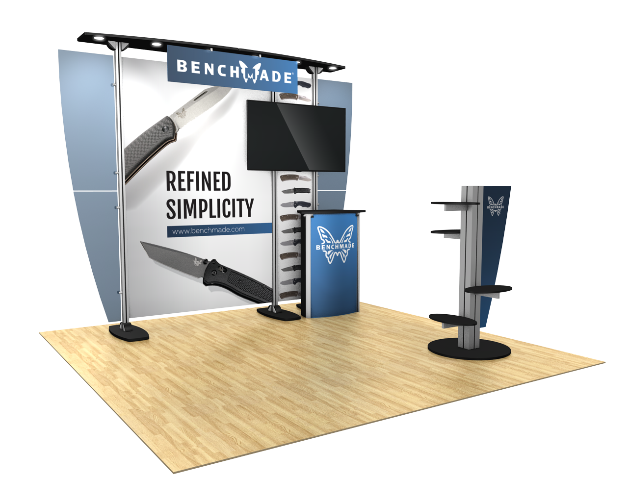 Exhibitline 10ft Trade Show Display Kit - 10.11