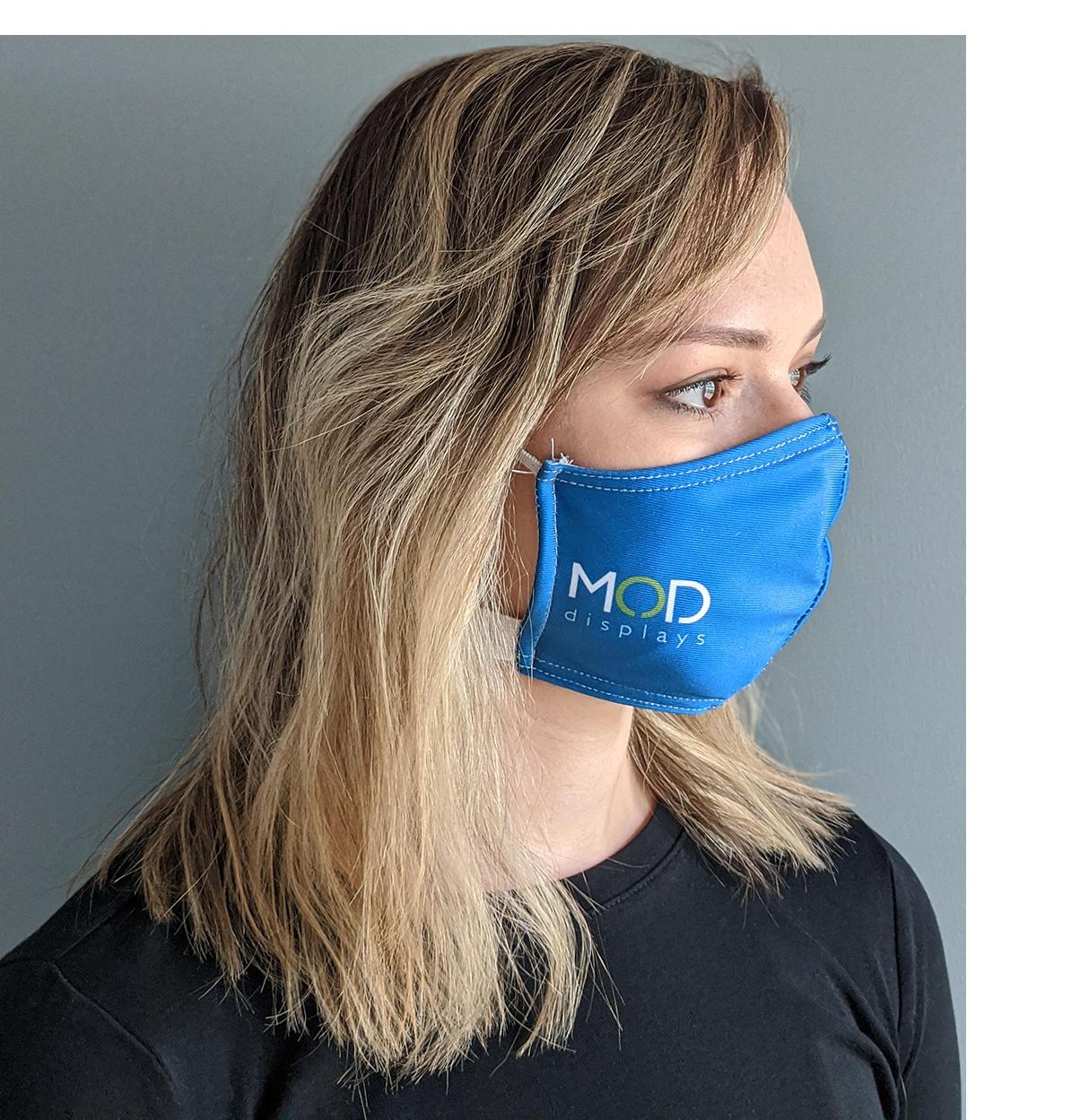 24 Pack of Branded Face Masks