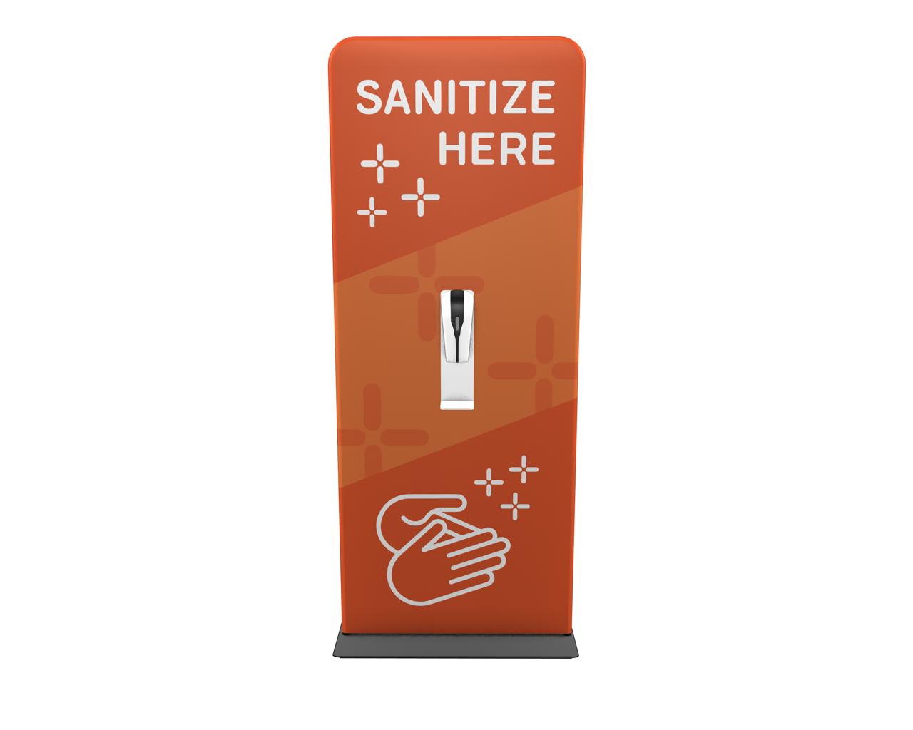 "Waveline 36"" Hand Sanitizer Station"