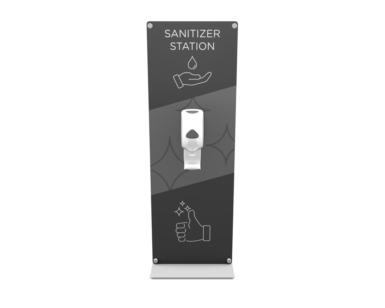 XVline XV.HS.4 Hand Sanitizer Station