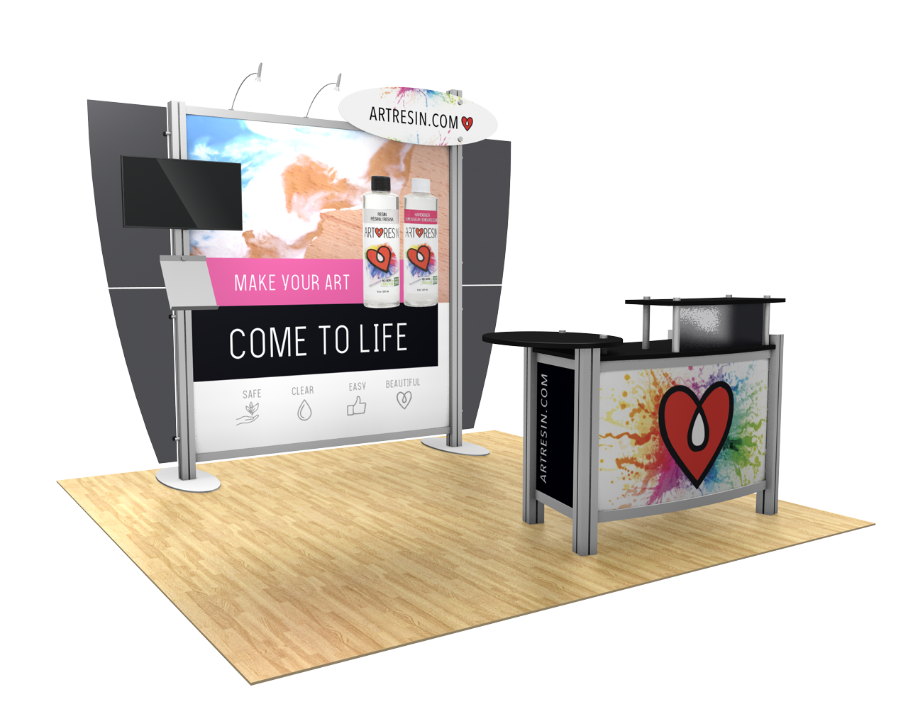 XVline Modular 10x10 Trade Show Display Kit - 10.01