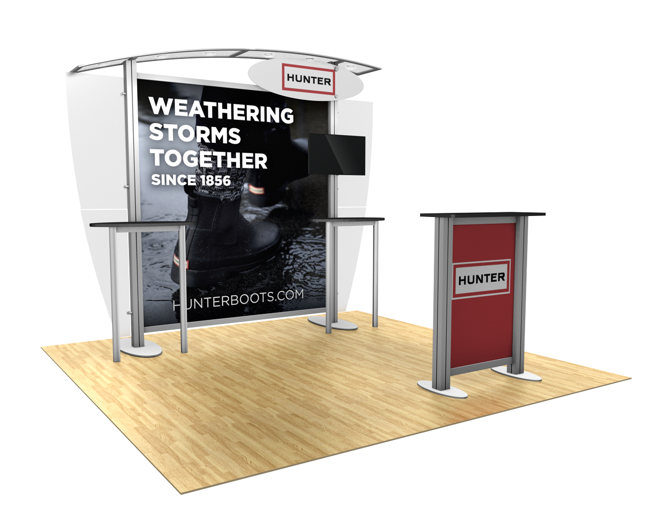 XVline Modular 10x10 Trade Show Display Kit - 10.04