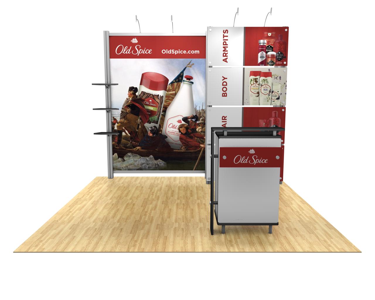 XVline Modular 10ft Trade Show Display Kit - 10.05