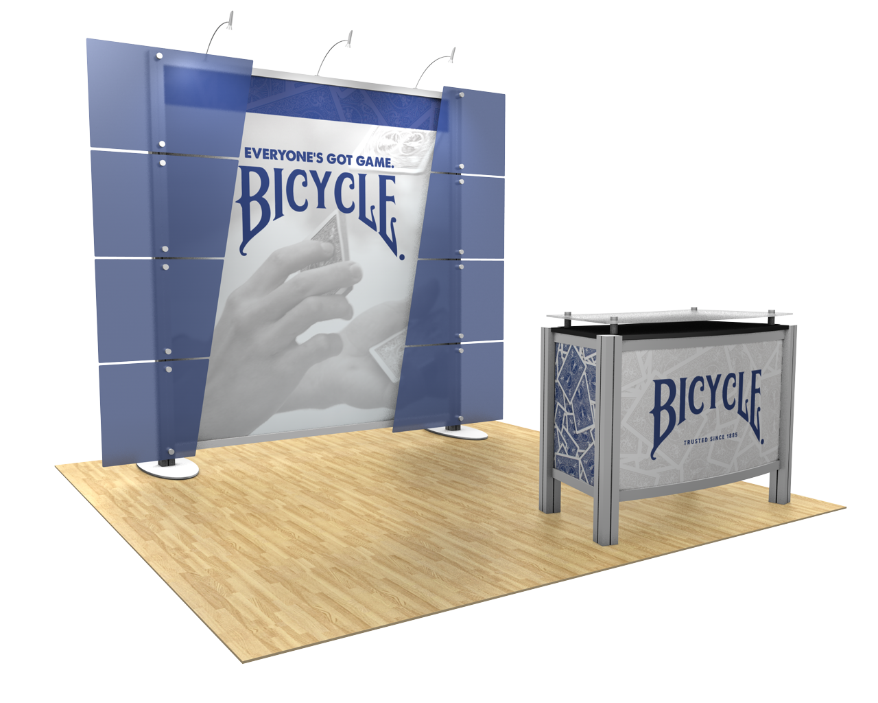 XVline Modular 10x10 Trade Show Display Kit - 10.06