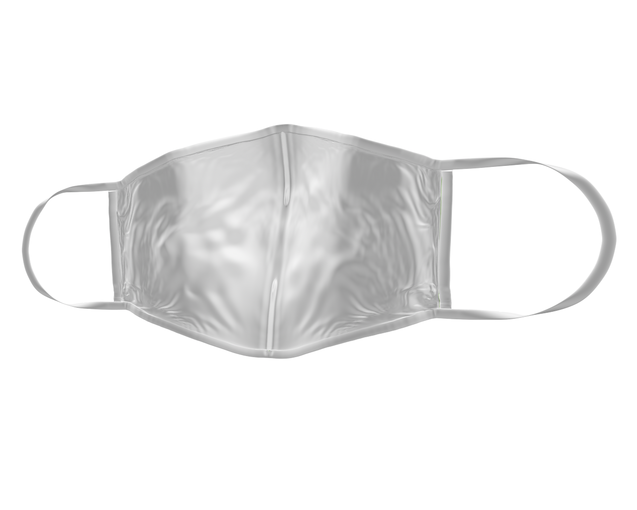 Pack of 100 Custom Printed 3D Adult Face Masks