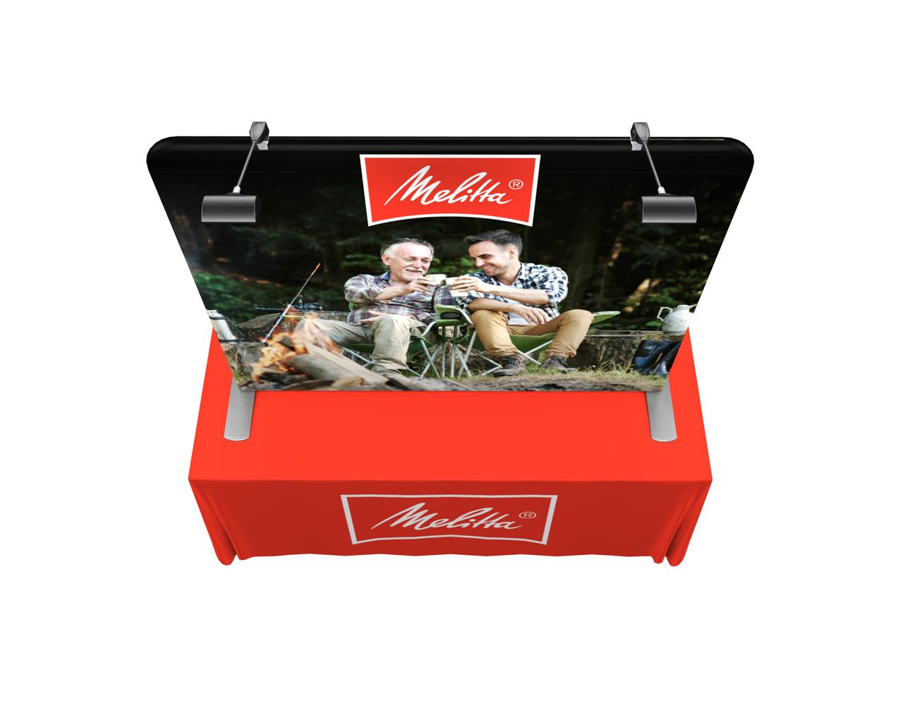 Waveline 6ft Flat Tabletop Kit