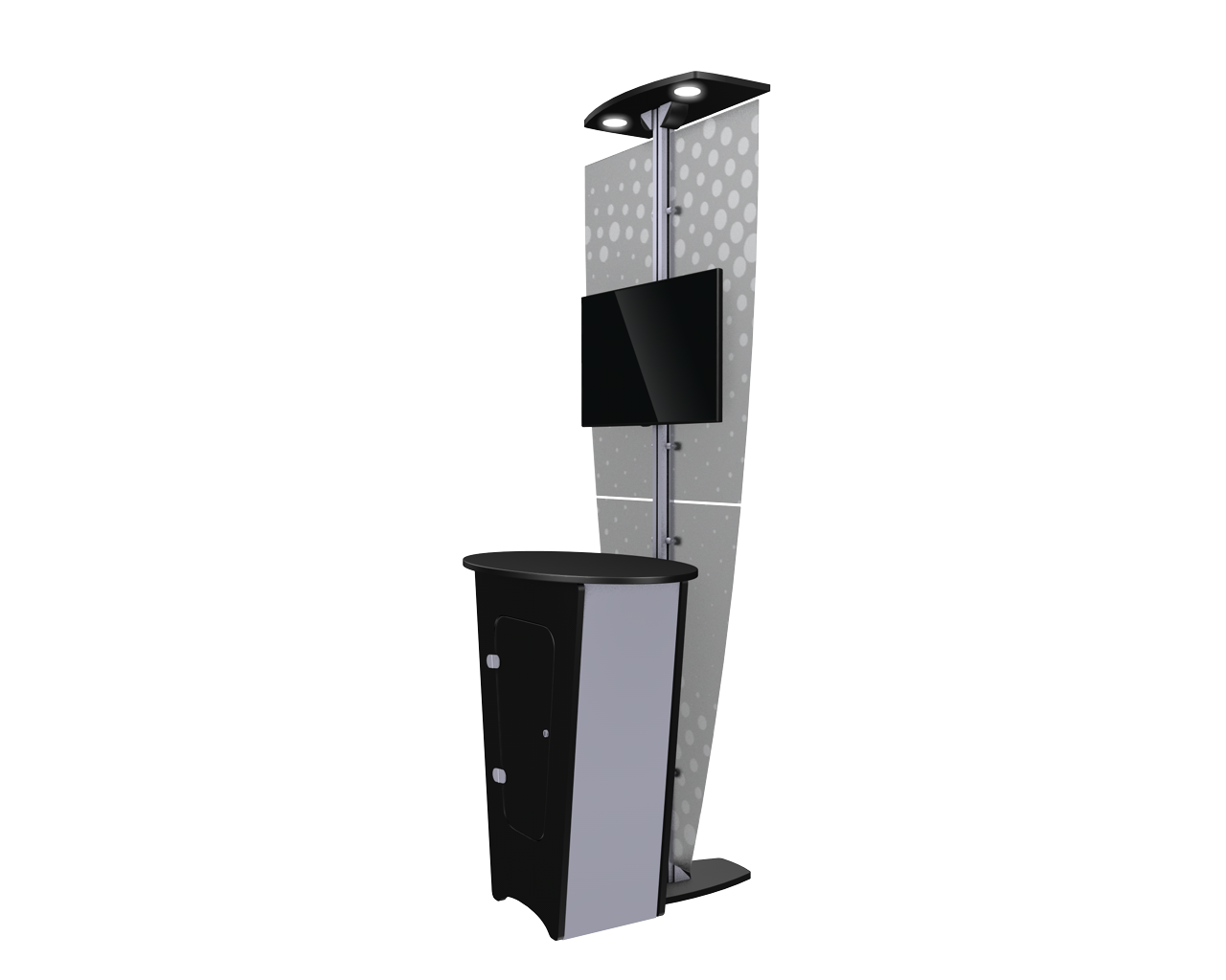 Exhibitline K2.NLC1 Locking Kiosk