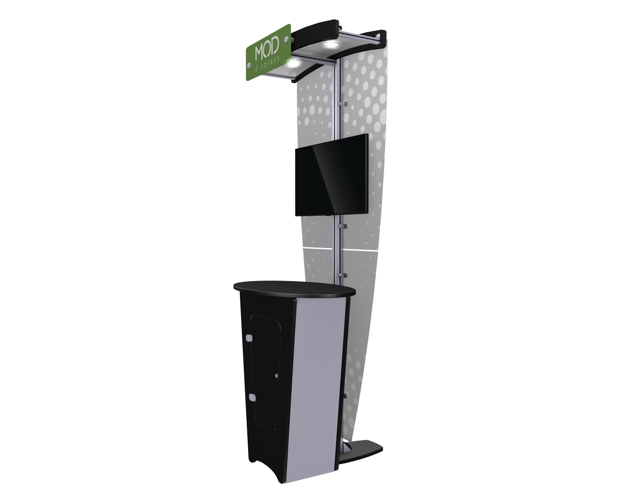Exhibitline Kb.NLC1 Locking Kiosk