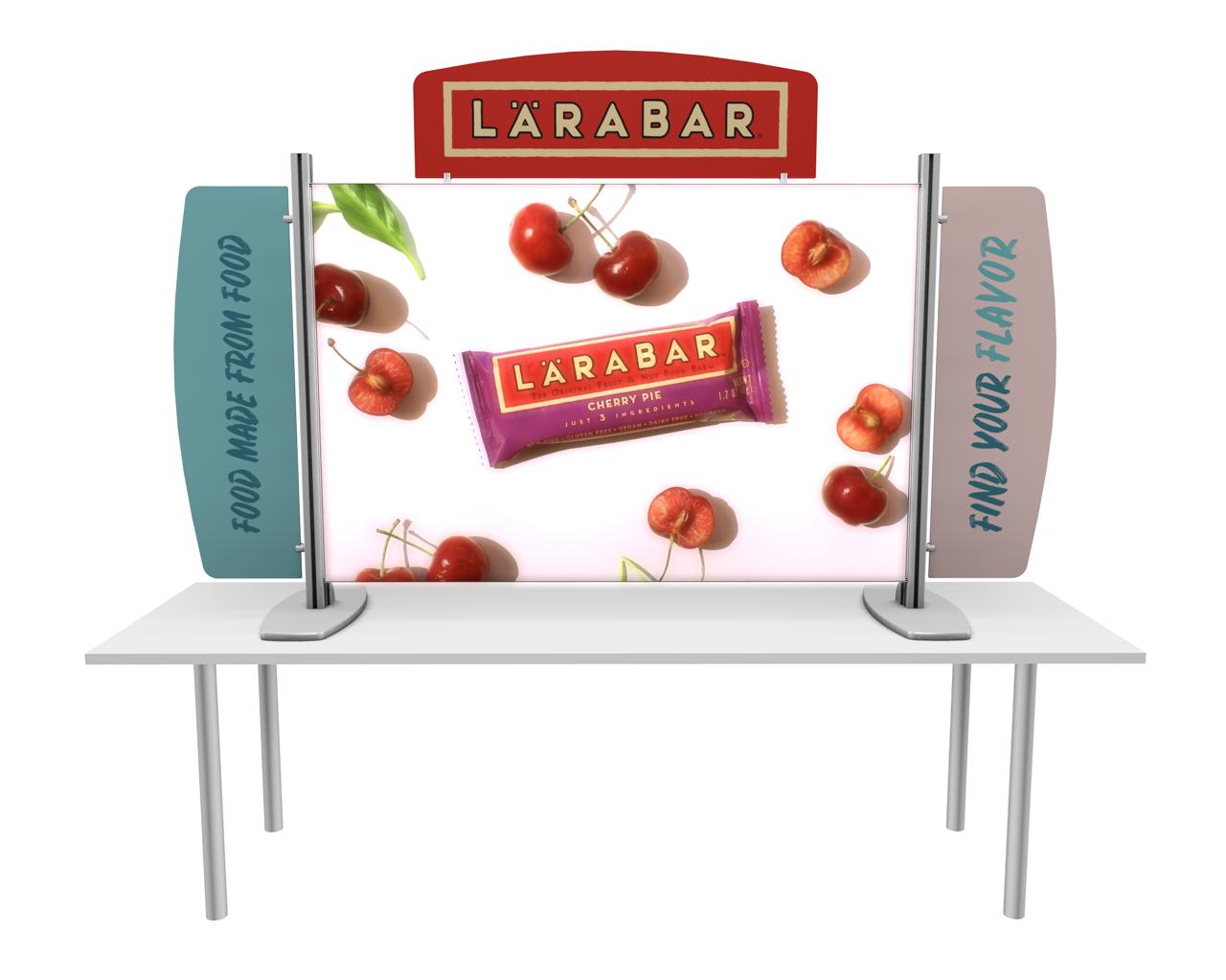 Exhibitline Backlit Tabletop Display