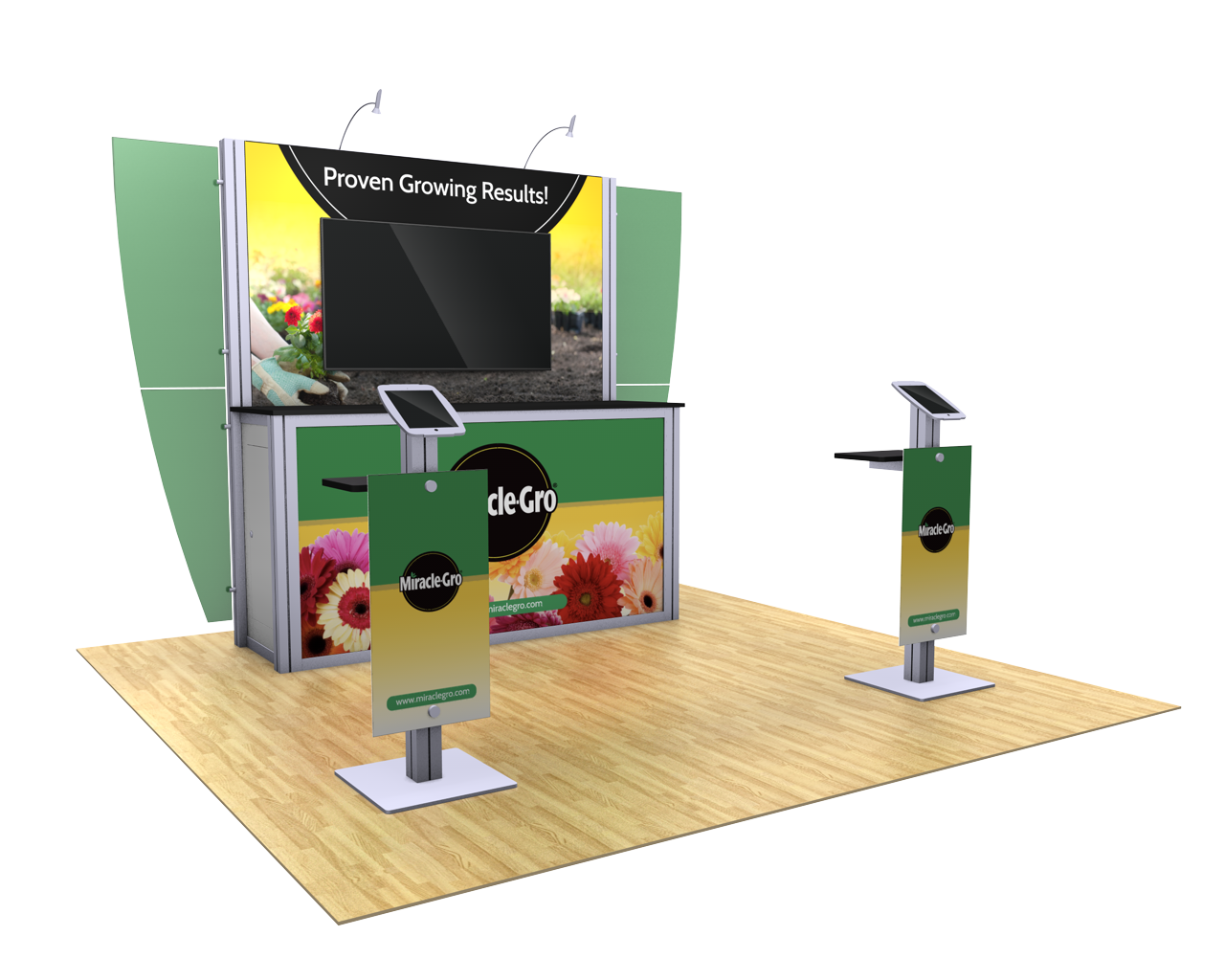 XVline Modular 10x10 Trade Show Display Kit - 10.07