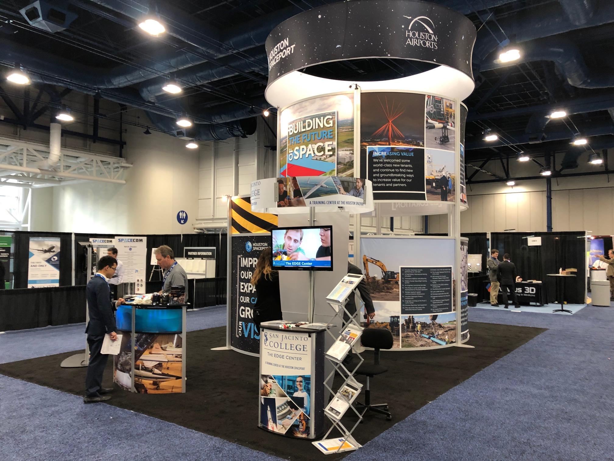 20x20 XVLine Trade Show Booth