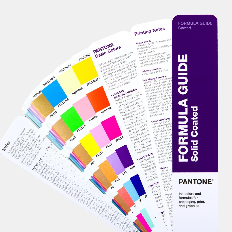 Pantone Coated Formula Guide