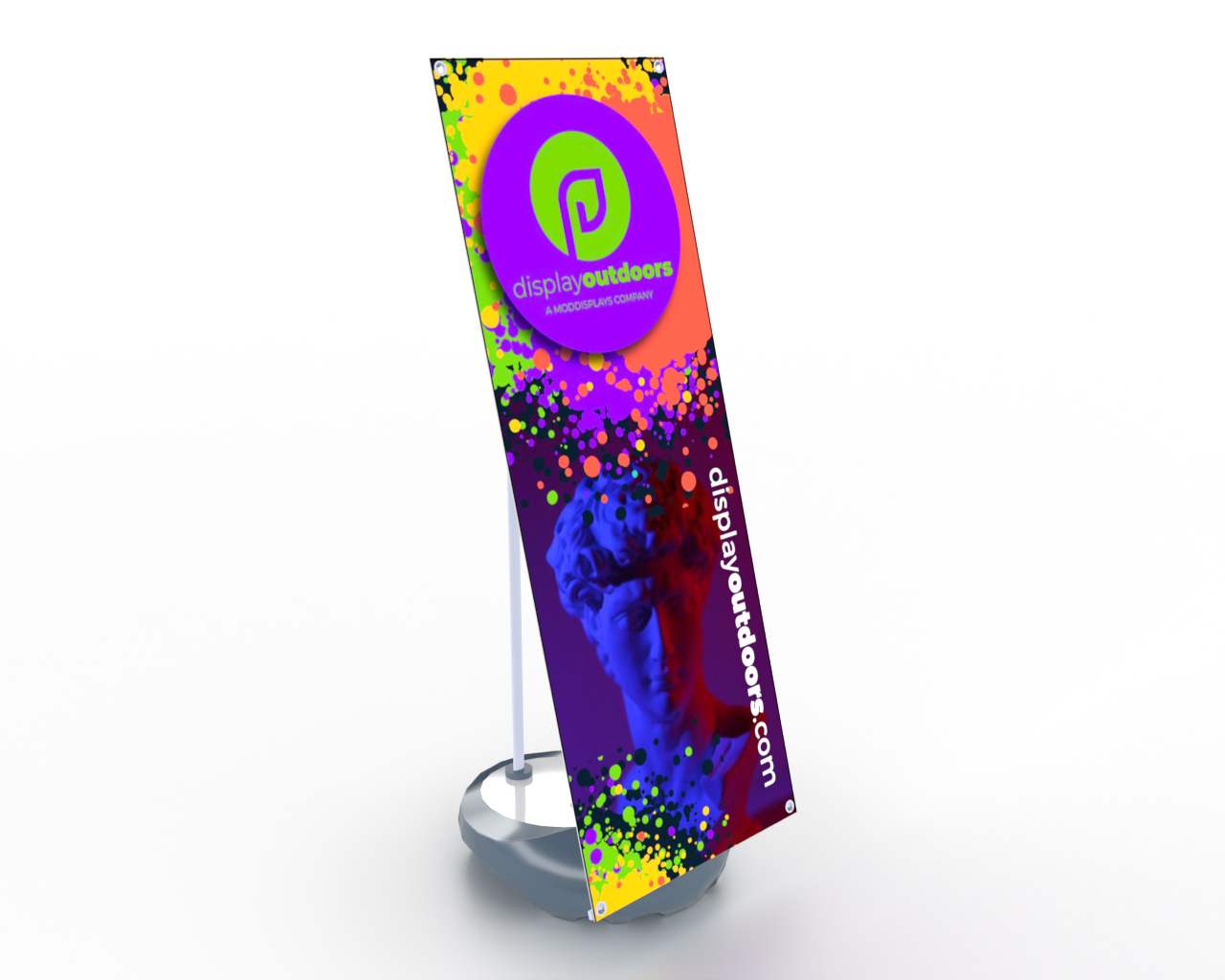 Weighted Banner Stand