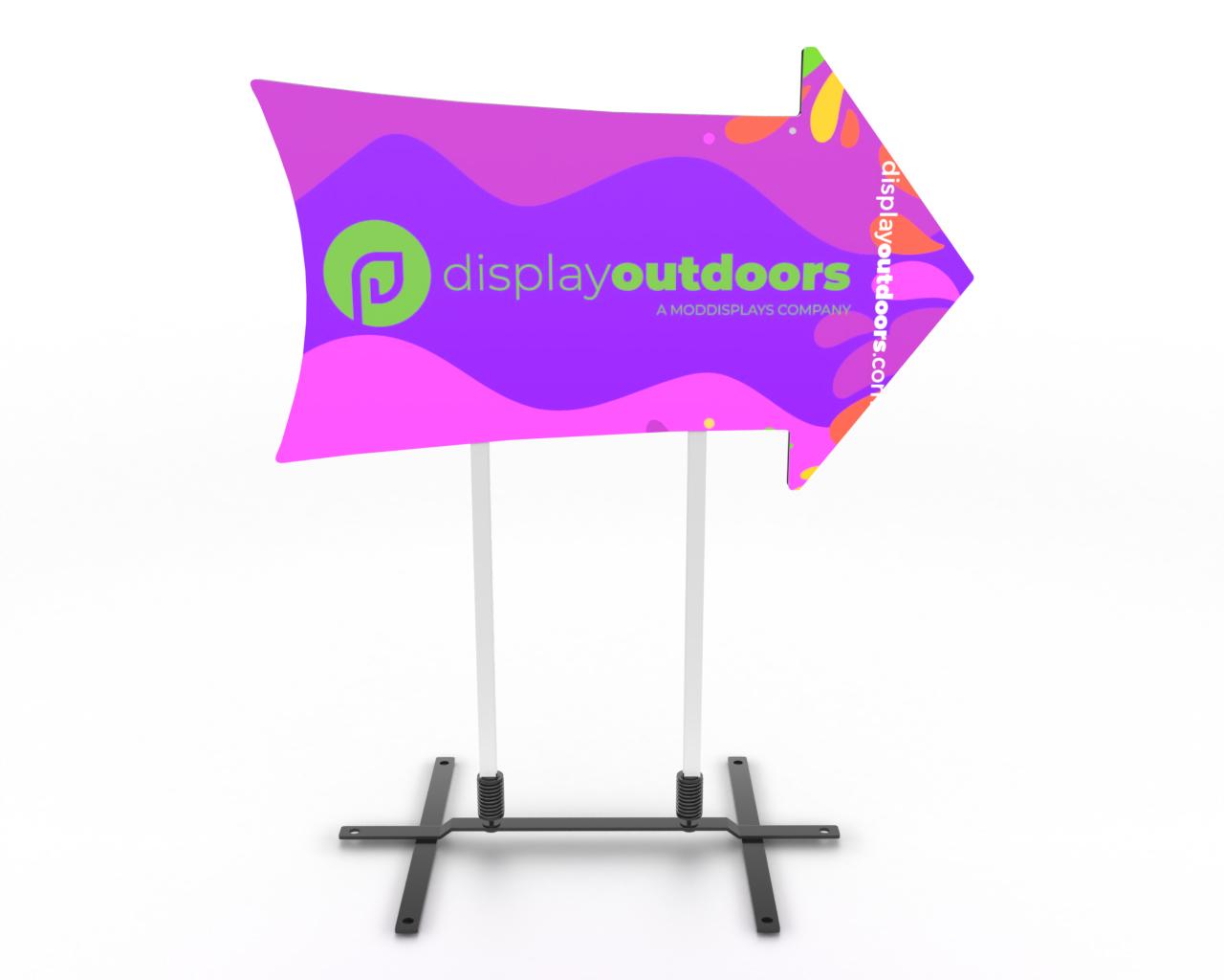 Horizontal Arrow Display
