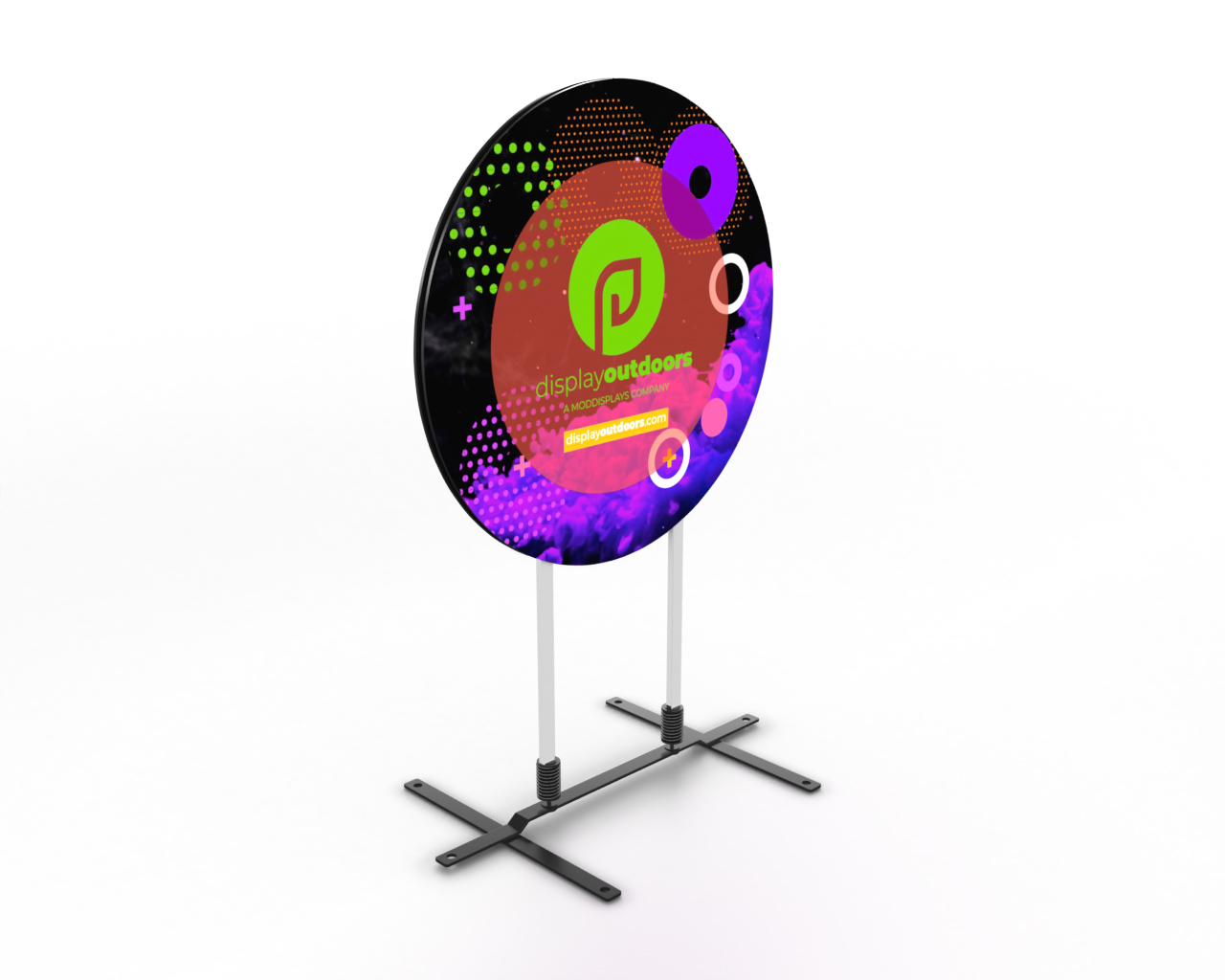 Circle Outdoor Display