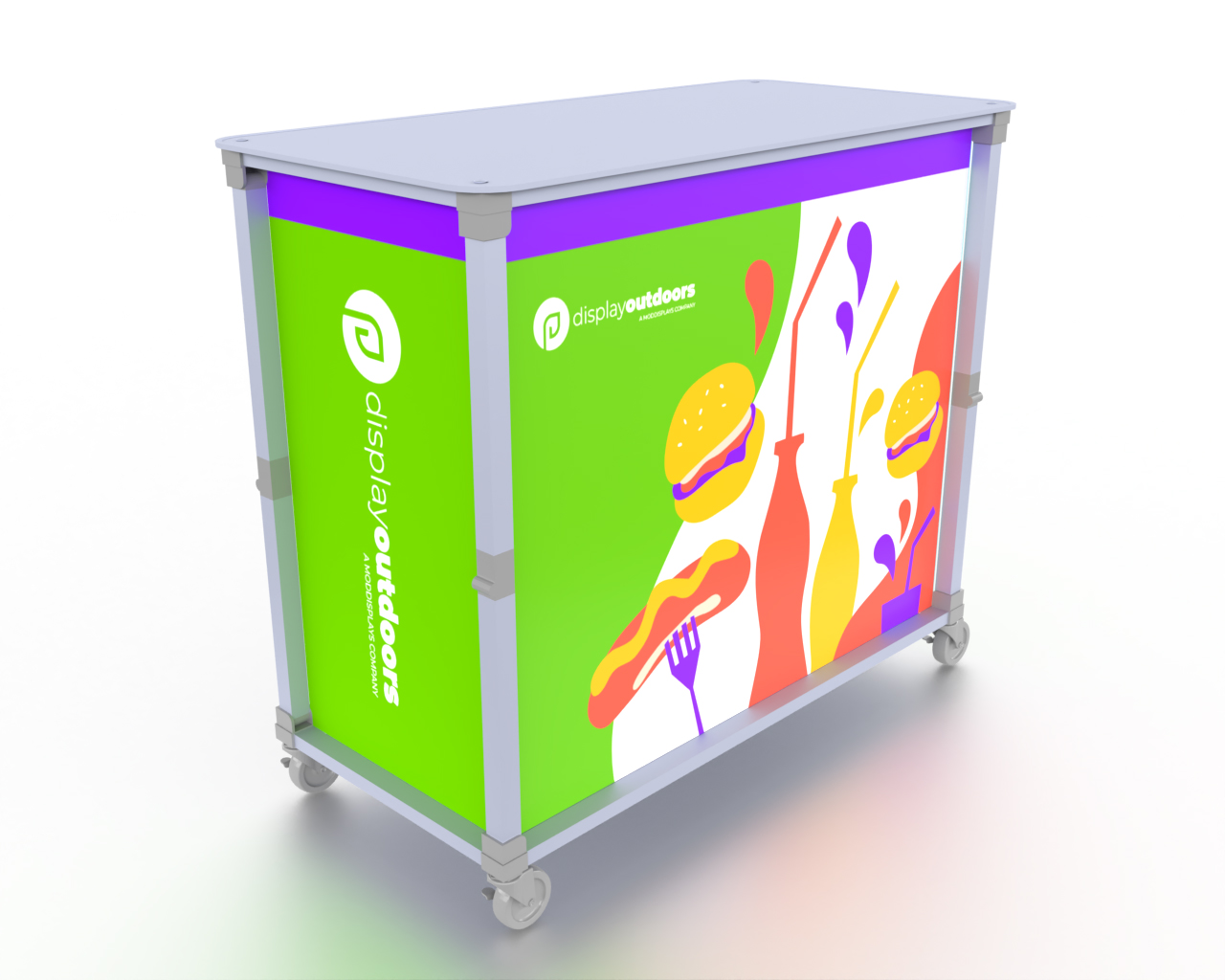 Collapsible Counter