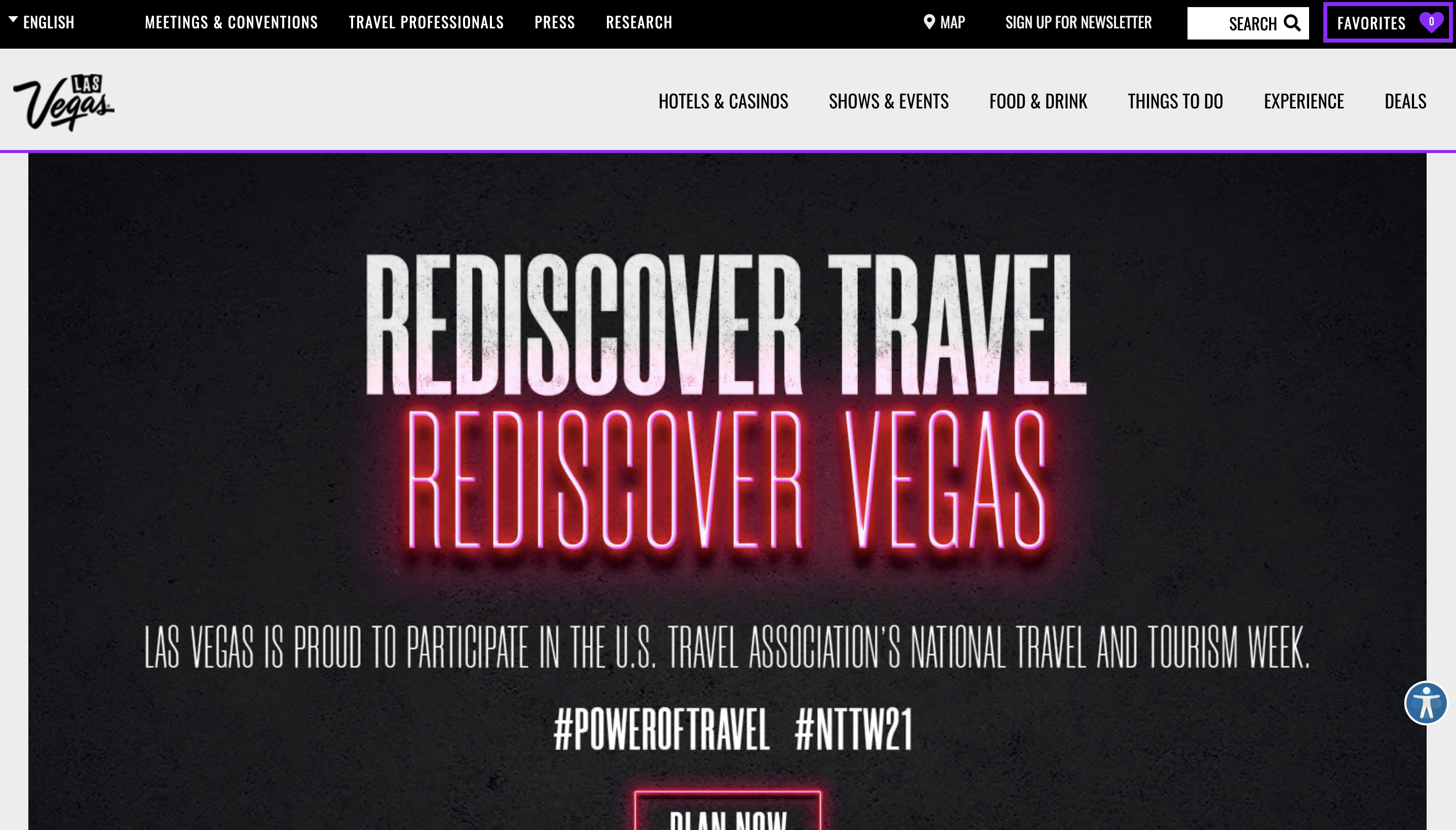 Visit Las Vegas Website