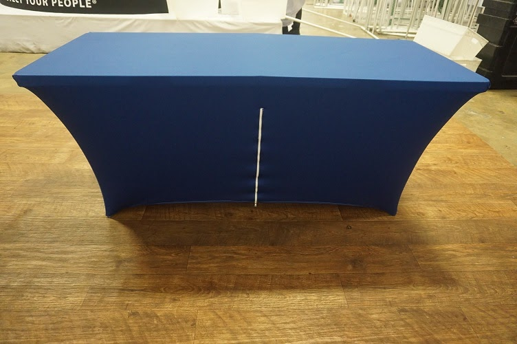 Back of a Tension Table Cover