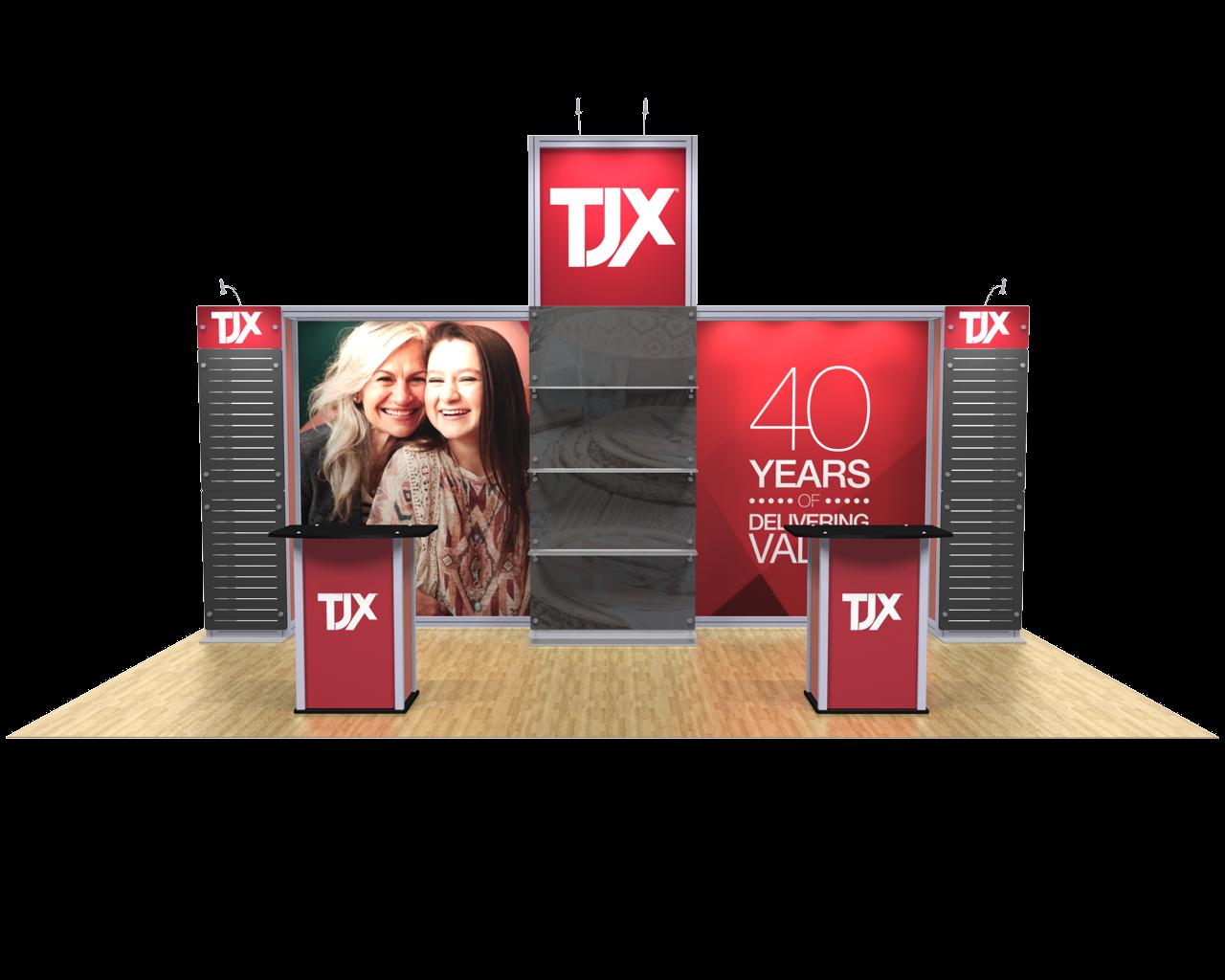 XVline Modular Kit 20.07 10x20 display