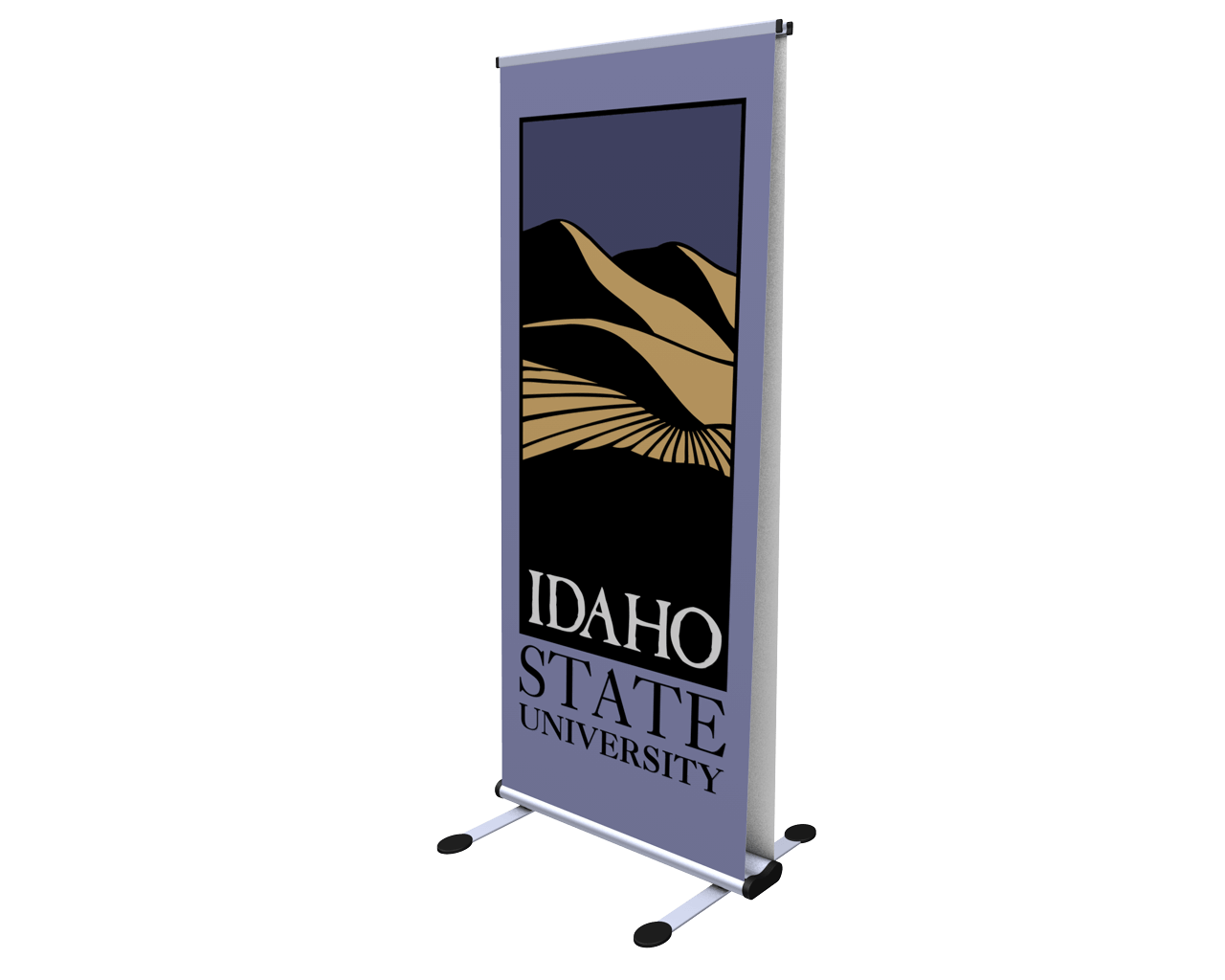 Thunder Double-Sided Retractable Banner Stand
