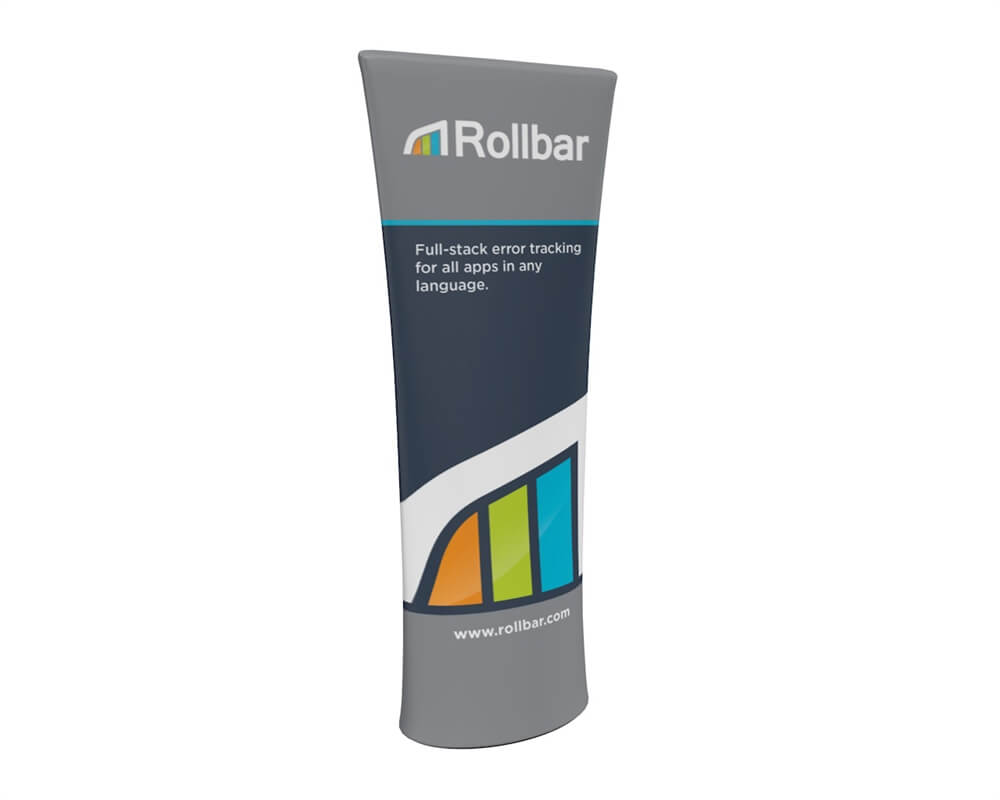 Brandcusi Double-Sided Straight Top Banner Graphic