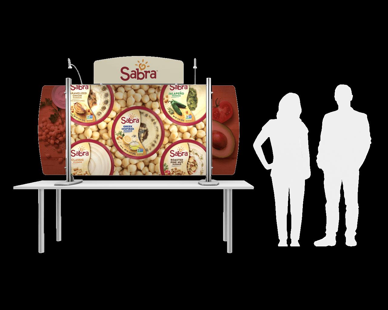 Exhibitline EX2 Tabletop Display