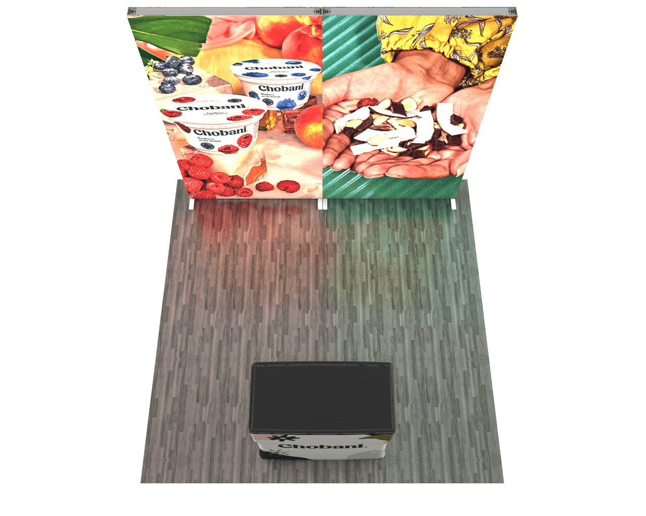 Infinity Pro Backlit 10ft Trade Show Display Kit - 10.02